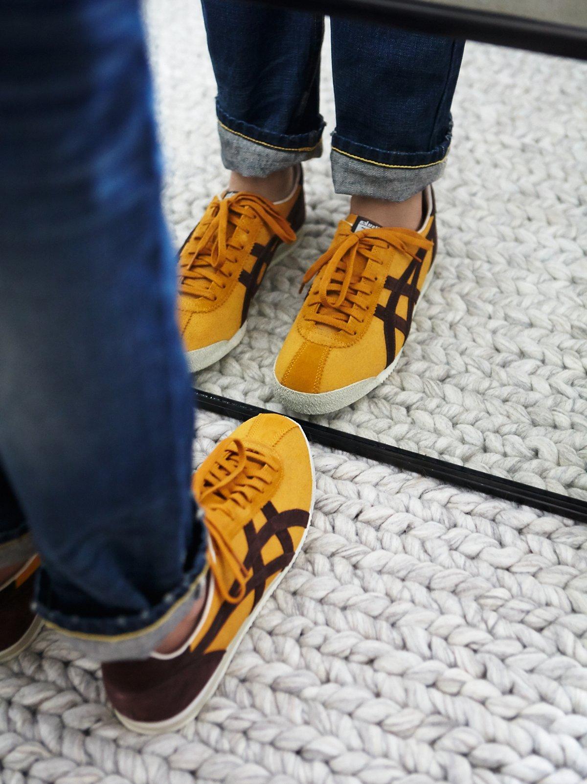 Linford绒面革跑鞋