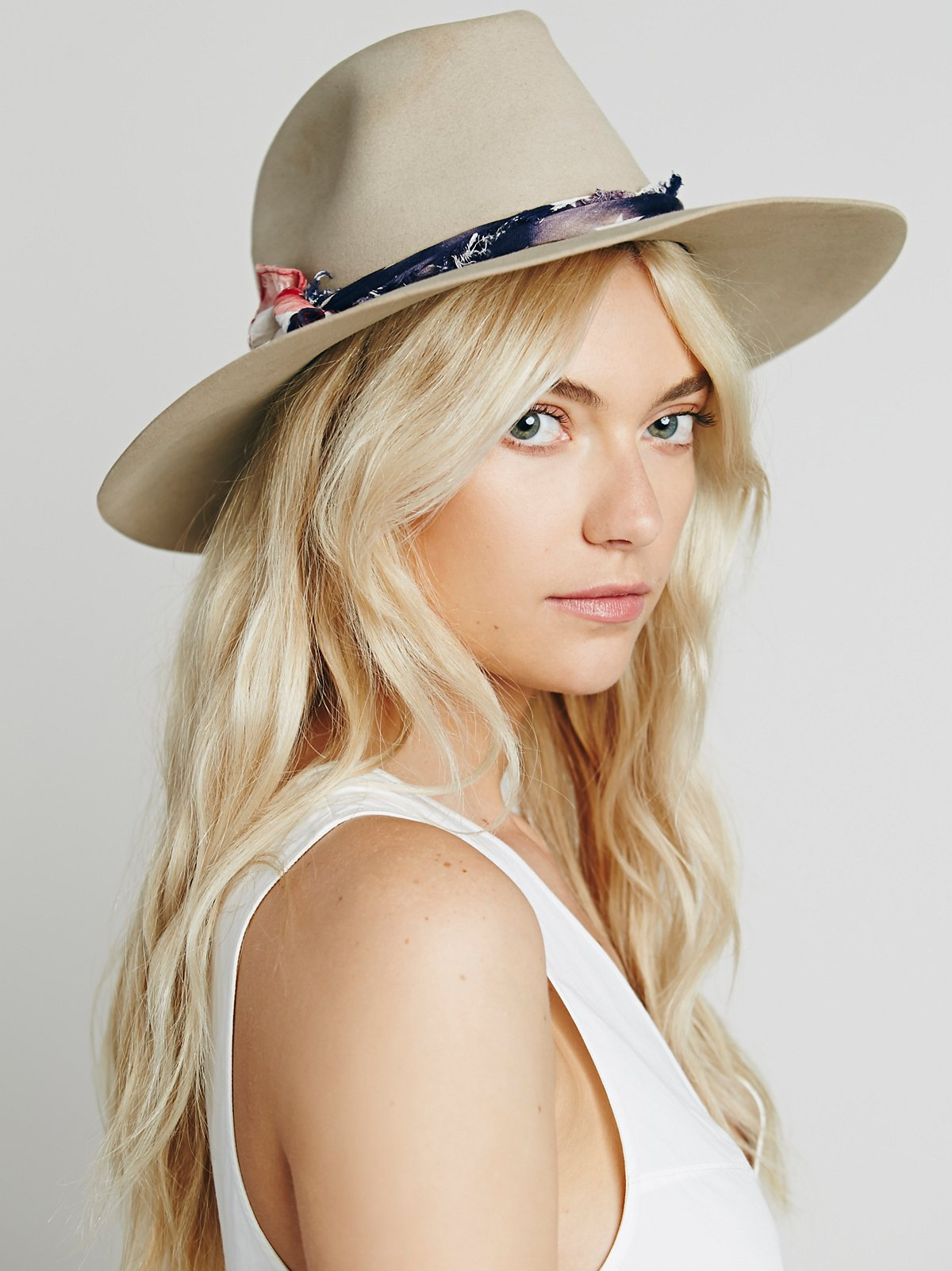 Tattered Americana Felt Hat