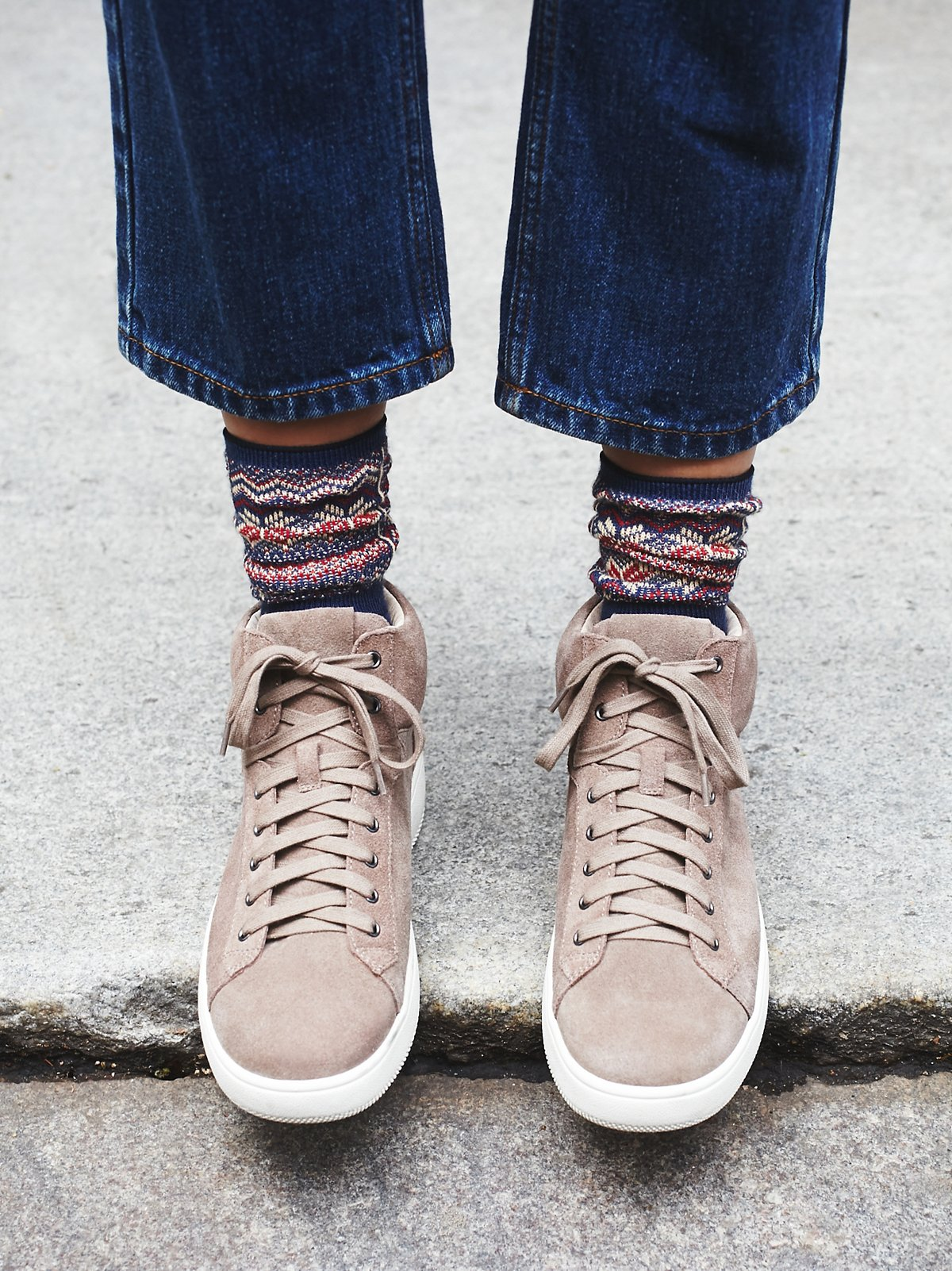 Upsider High Top Sneaker