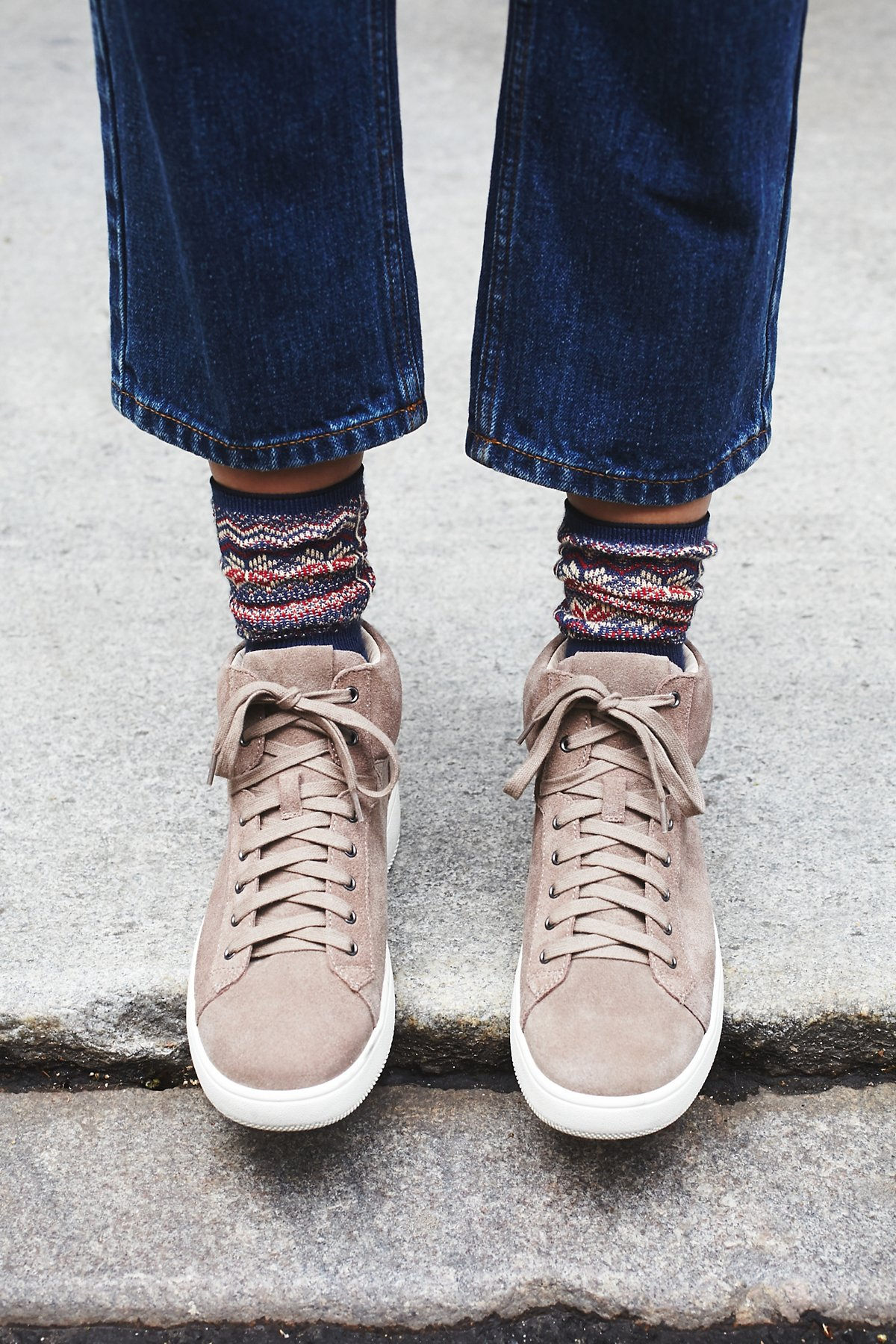 Upsider高帮运动鞋