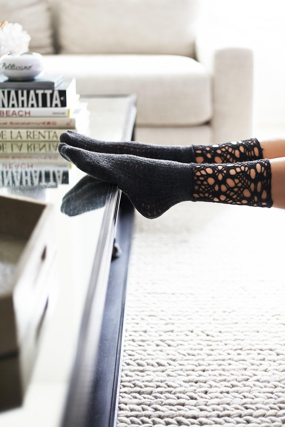 Chloe Crochet Ankle Sock