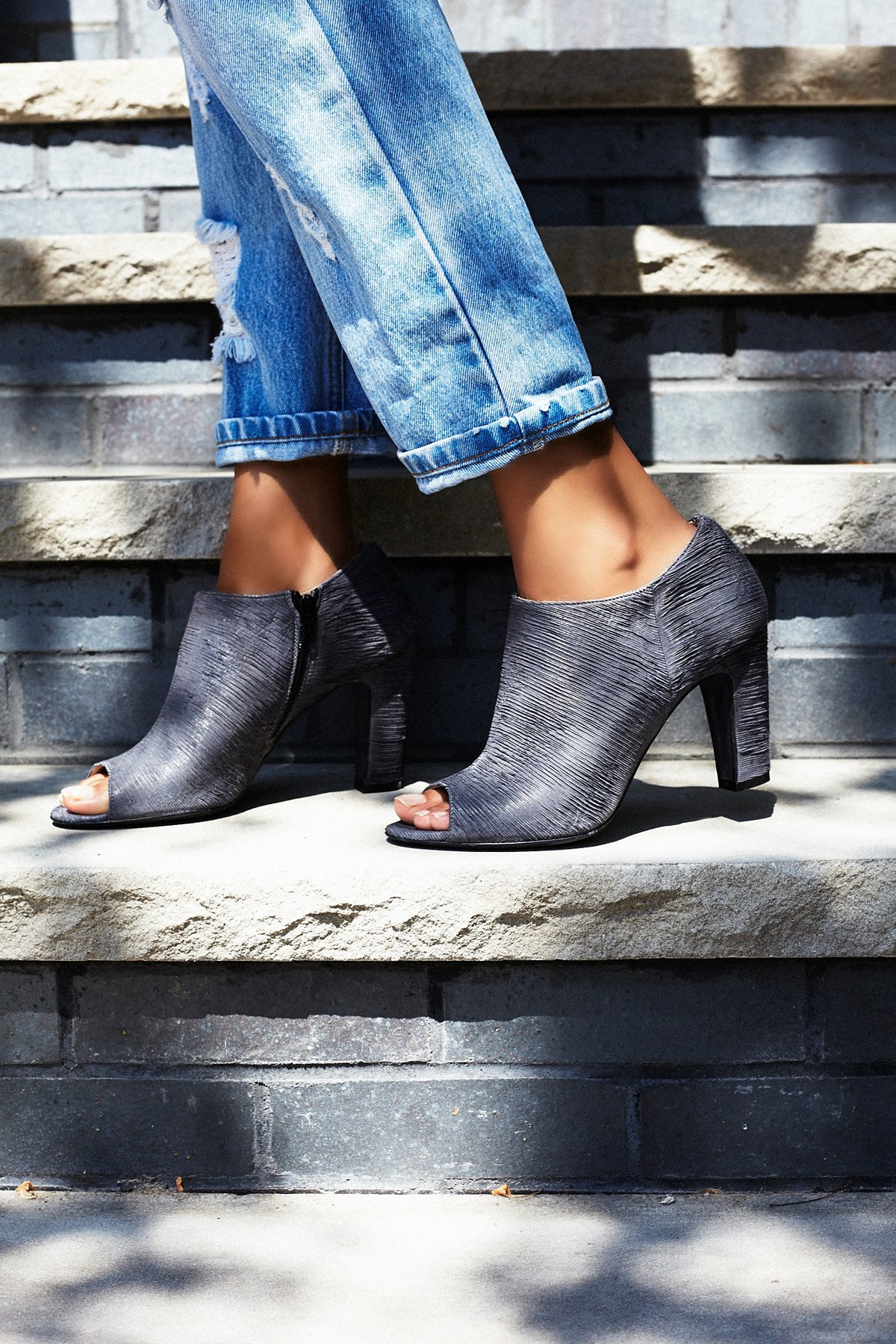 In the Spirit Heeled Ankle Boot