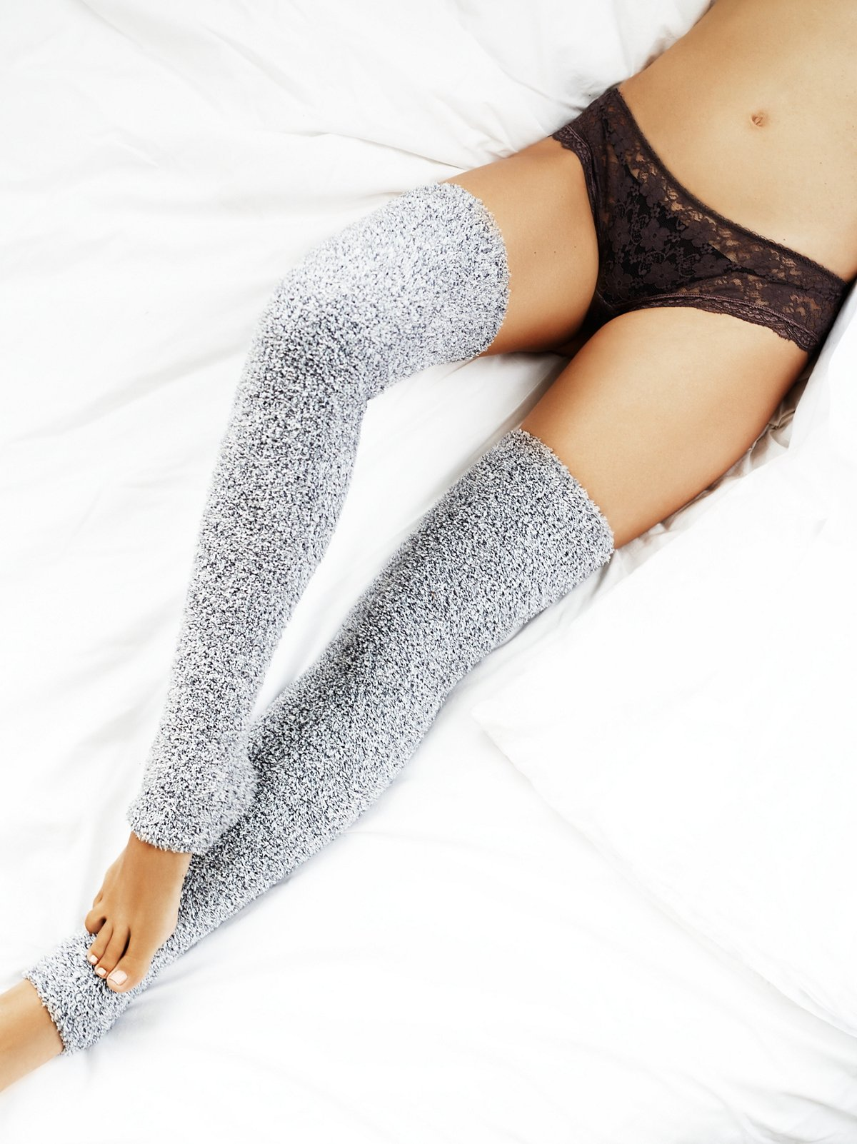 Camp Fire Thigh High Legwarmer