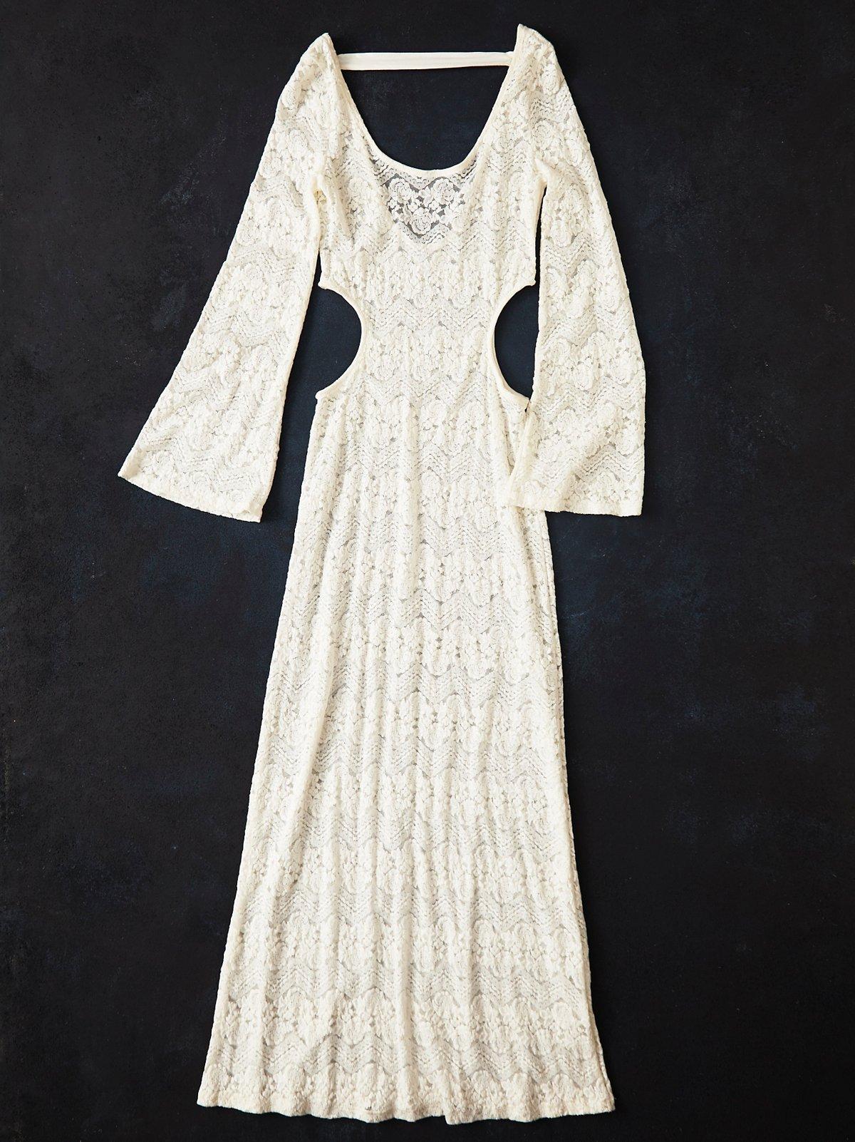 Vintage 1980s Lace Dress