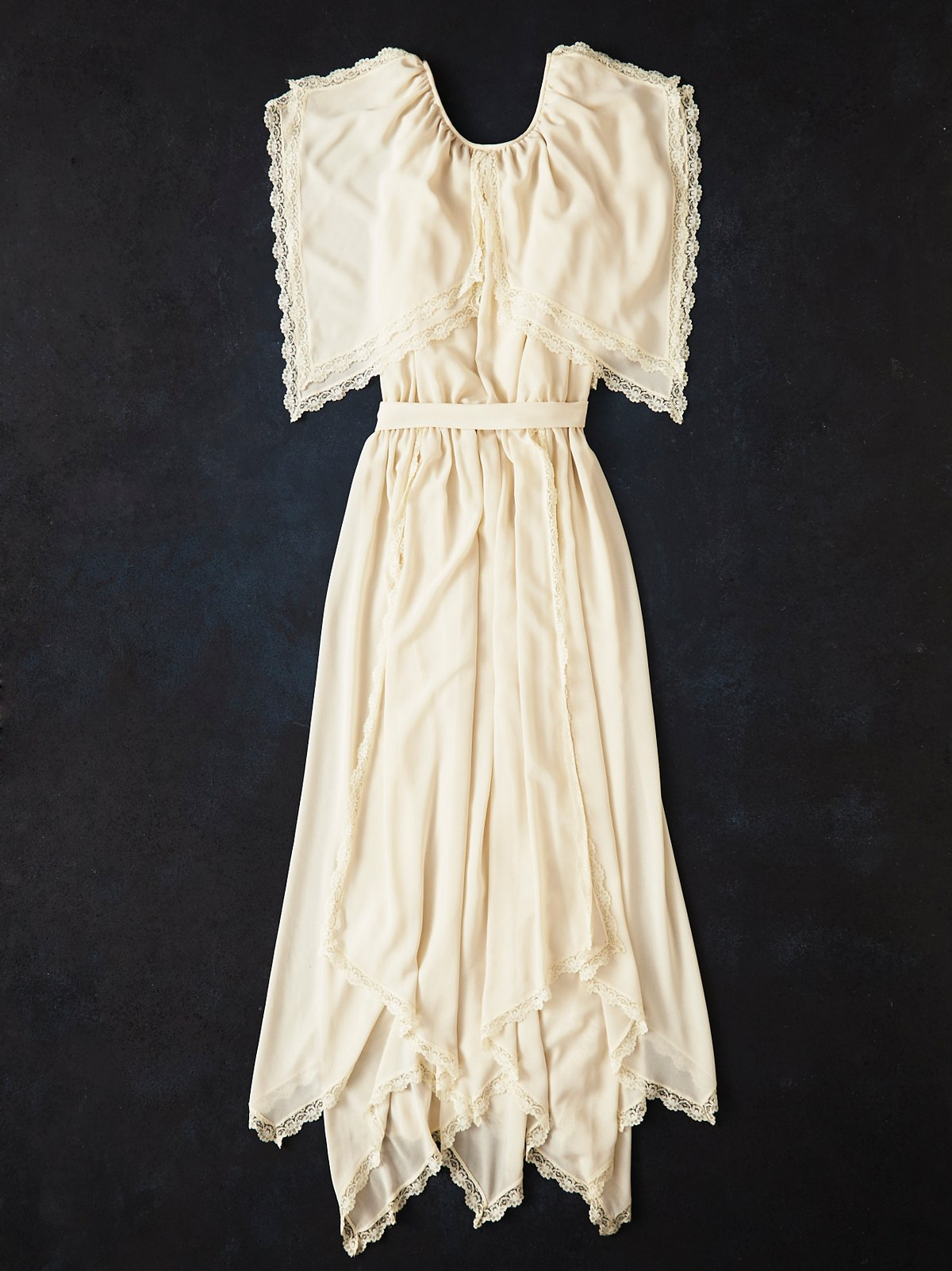 Vintage 1970s Chiffon Dress