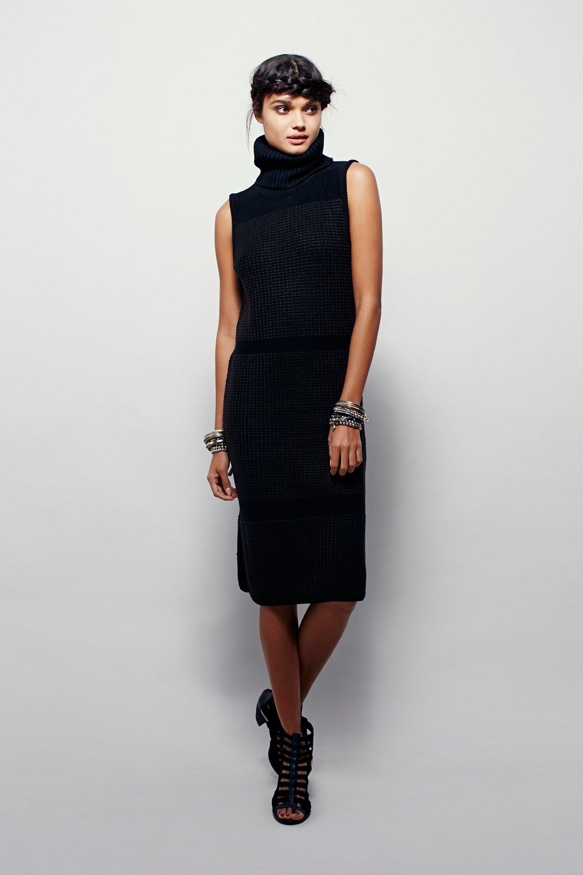 Arctic针织连衣裙