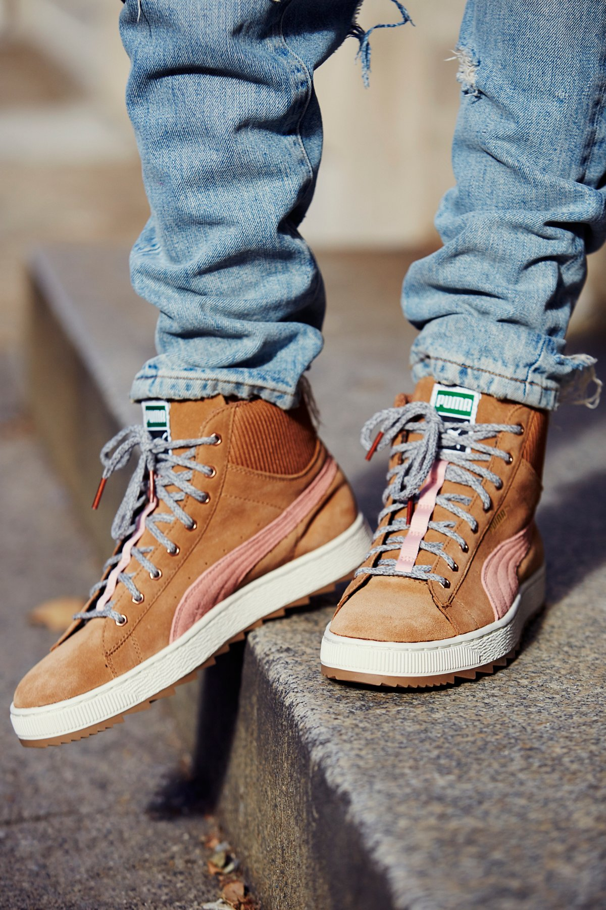 Suede Winterized High Tops
