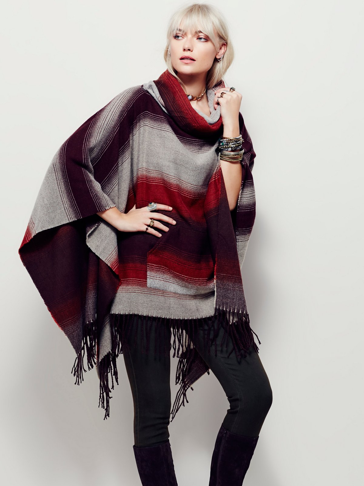 Desert Dream Cowl Poncho