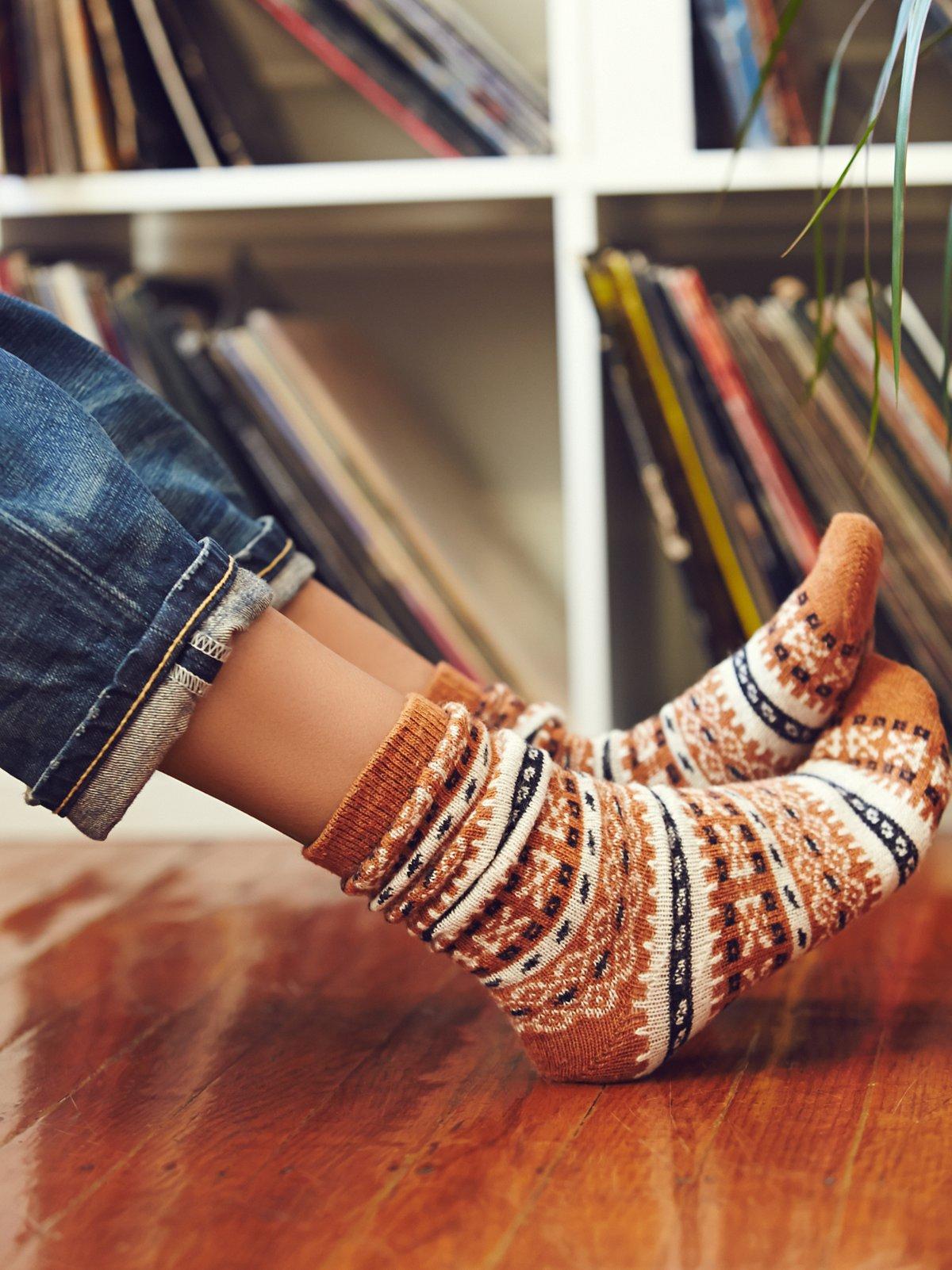 山羊绒水手袜