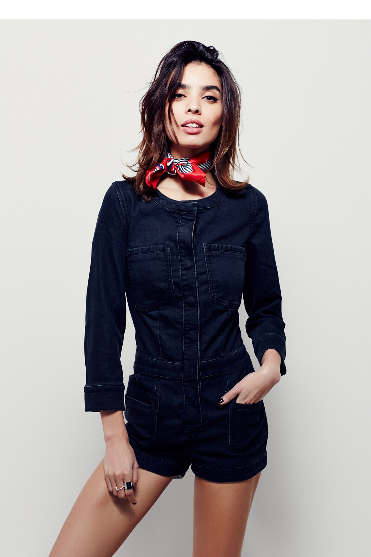 Fiona连衣短裤
