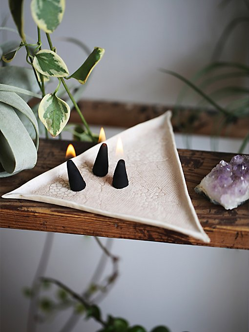 Product Image: Stephanie Tran Triangle Cone Incense Ivory