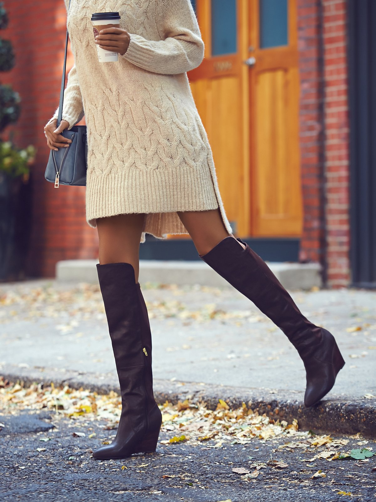 Salina Tall Wedge Boot