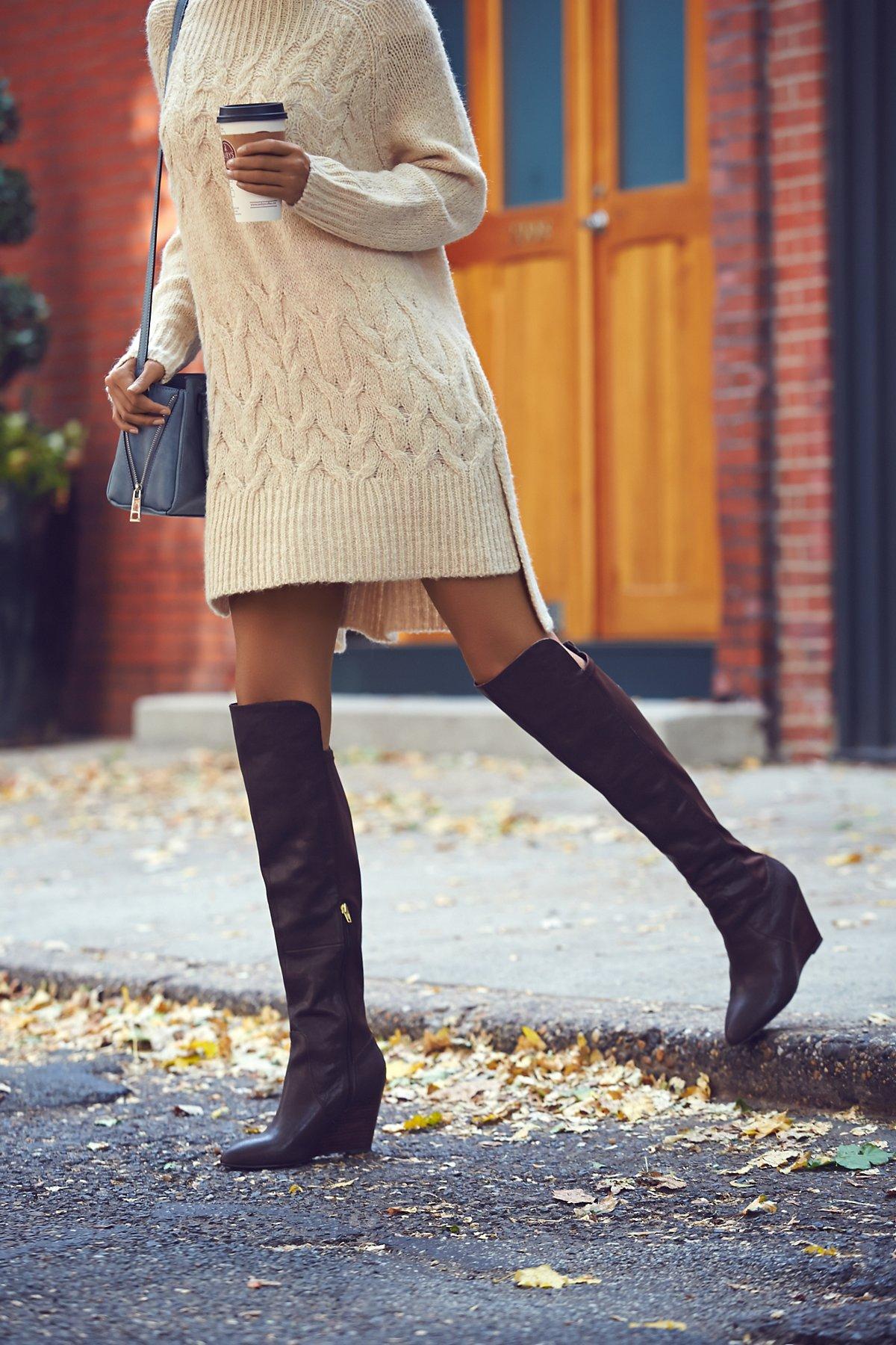 Salina Tall Wedge Boot