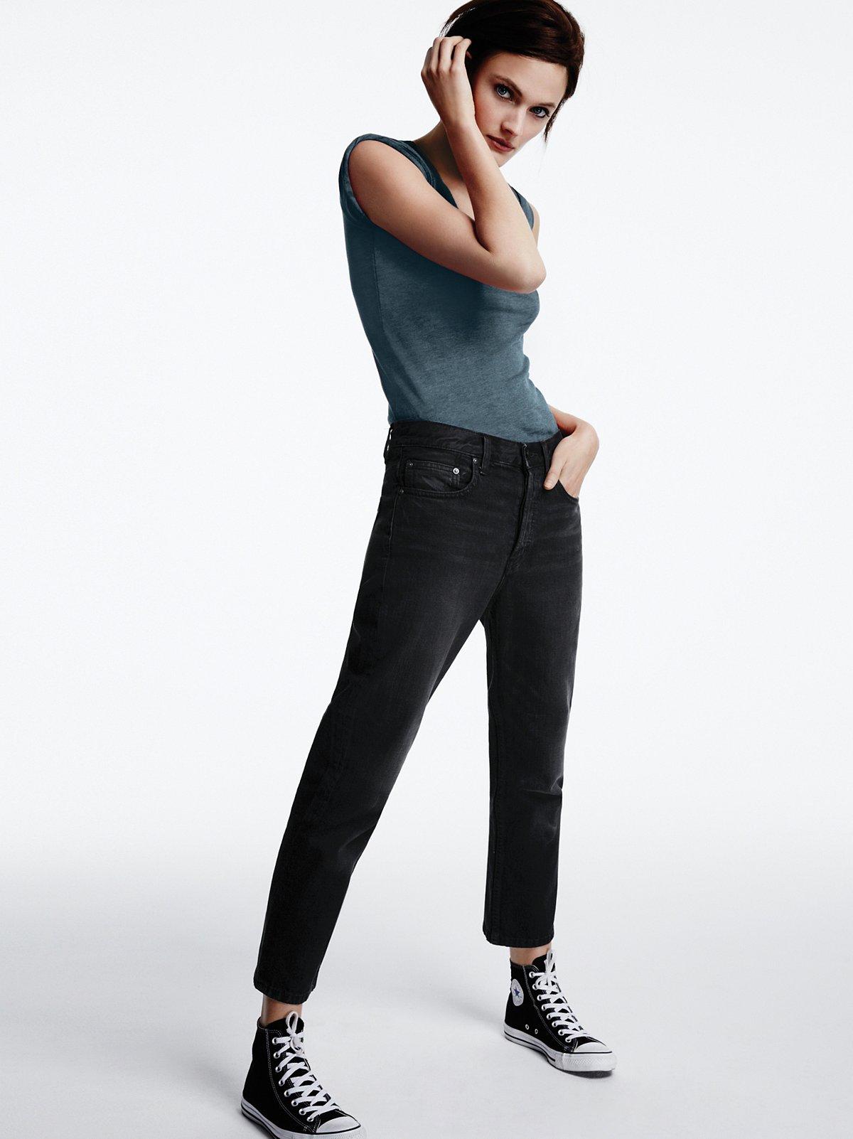 Uptown Slim Straight Jeans