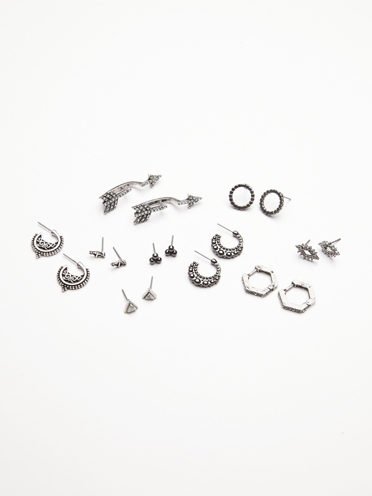 9 Pair Piercing Set