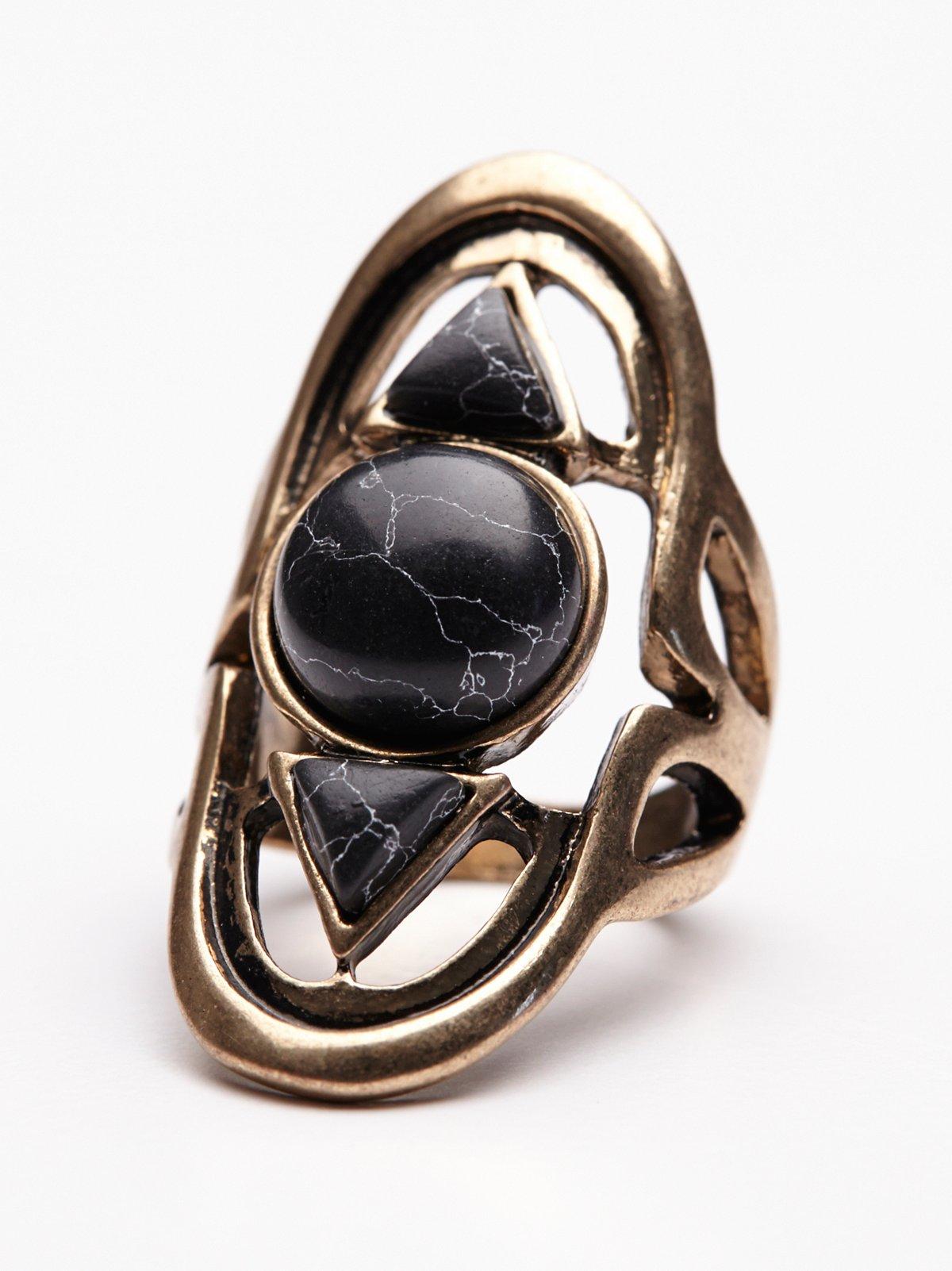 Cosmic Stone Ring