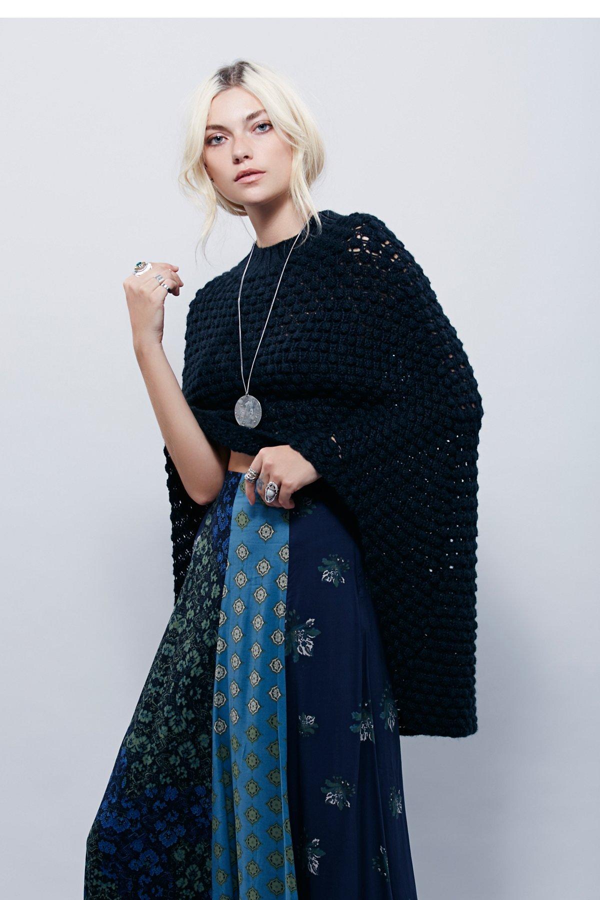 Daybreak Sweater Cape