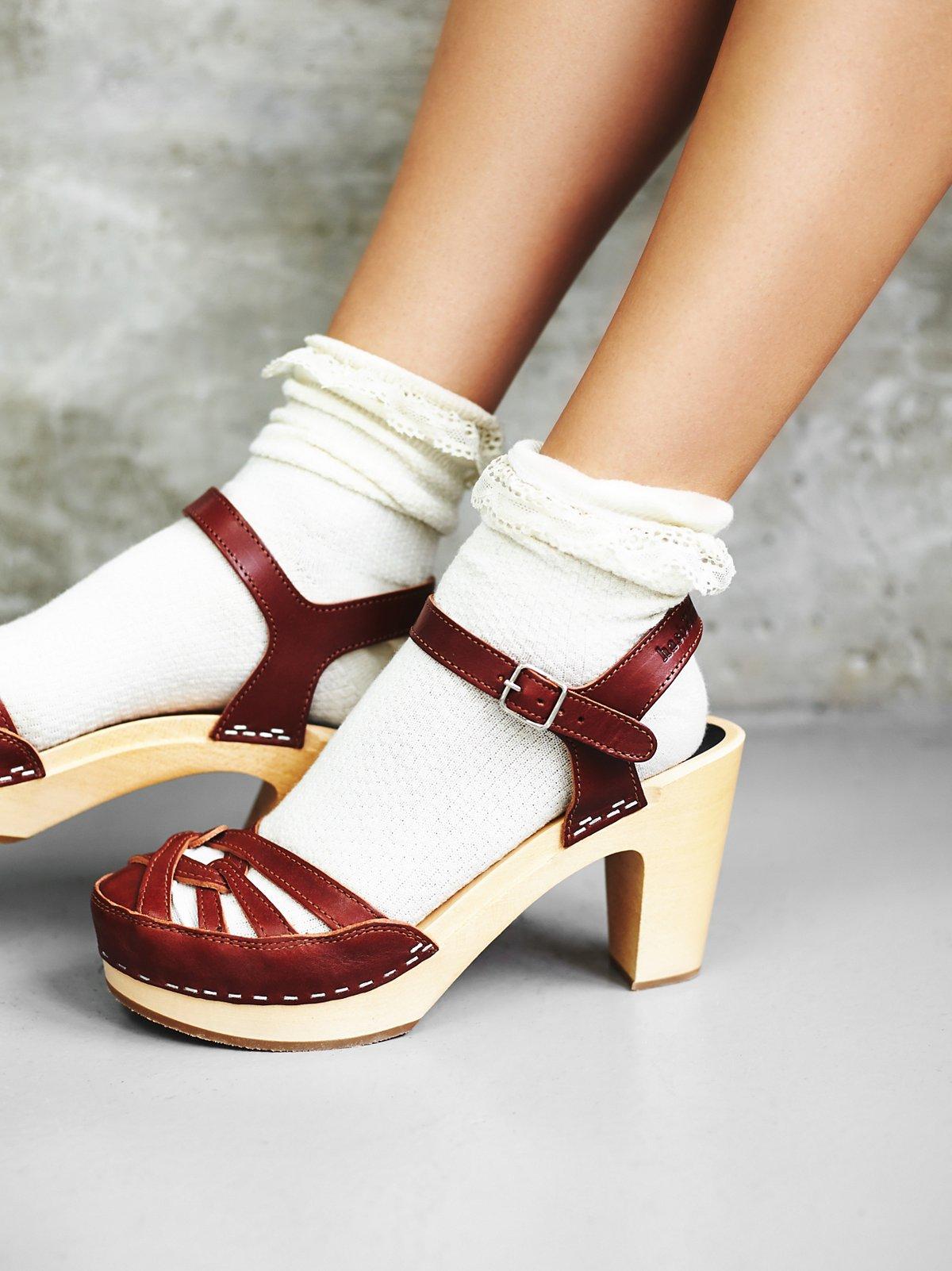 Agneta木底鞋
