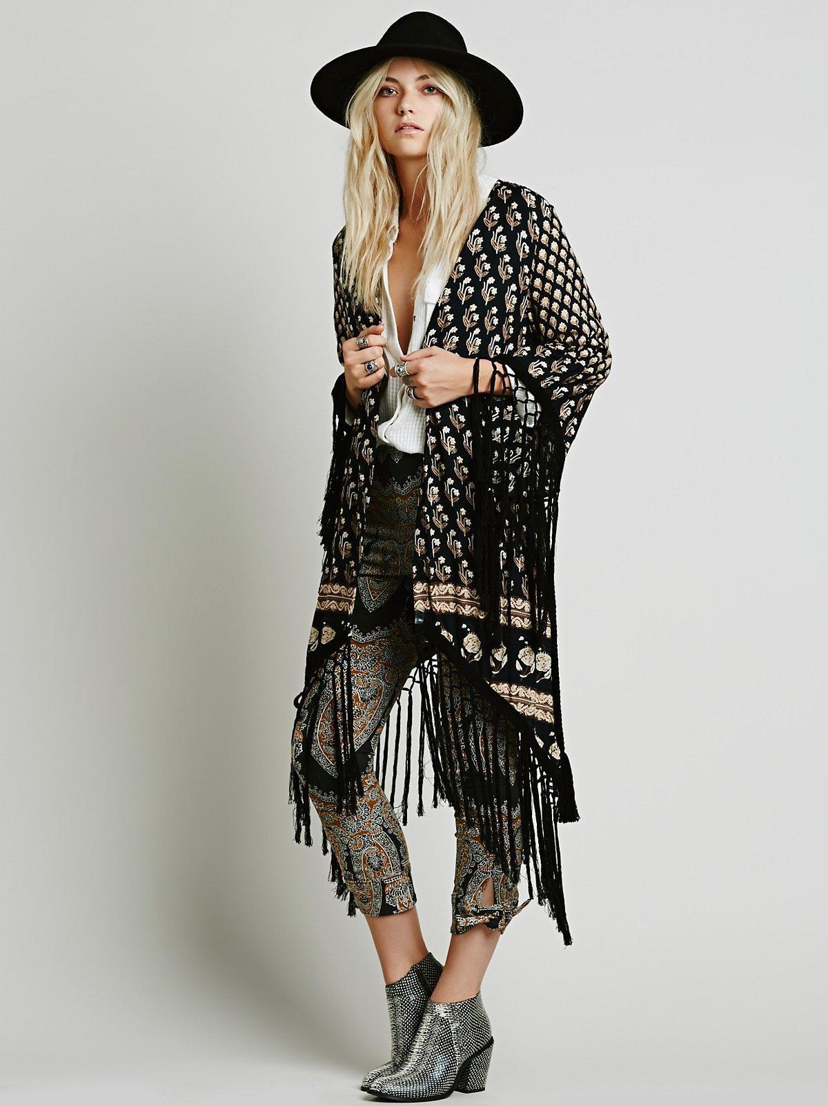 Royal Tassel Kimono