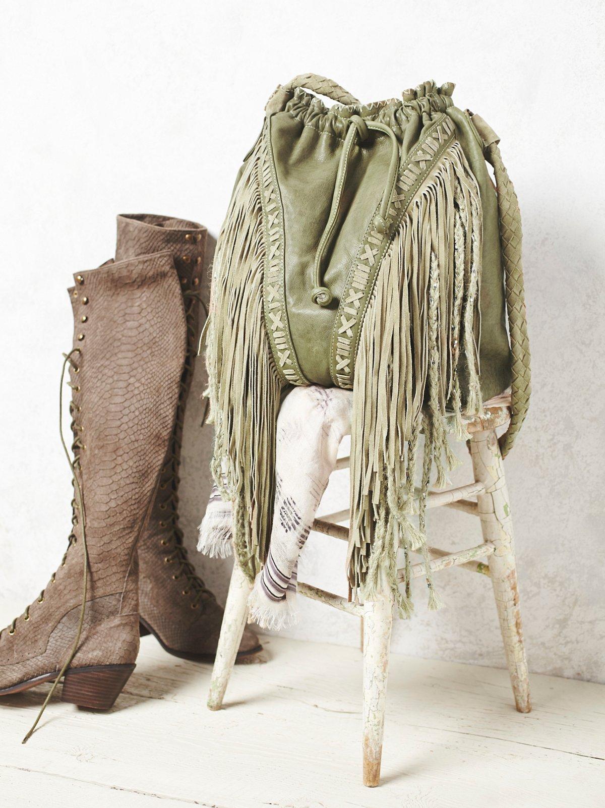 Isadora Fringe Bag