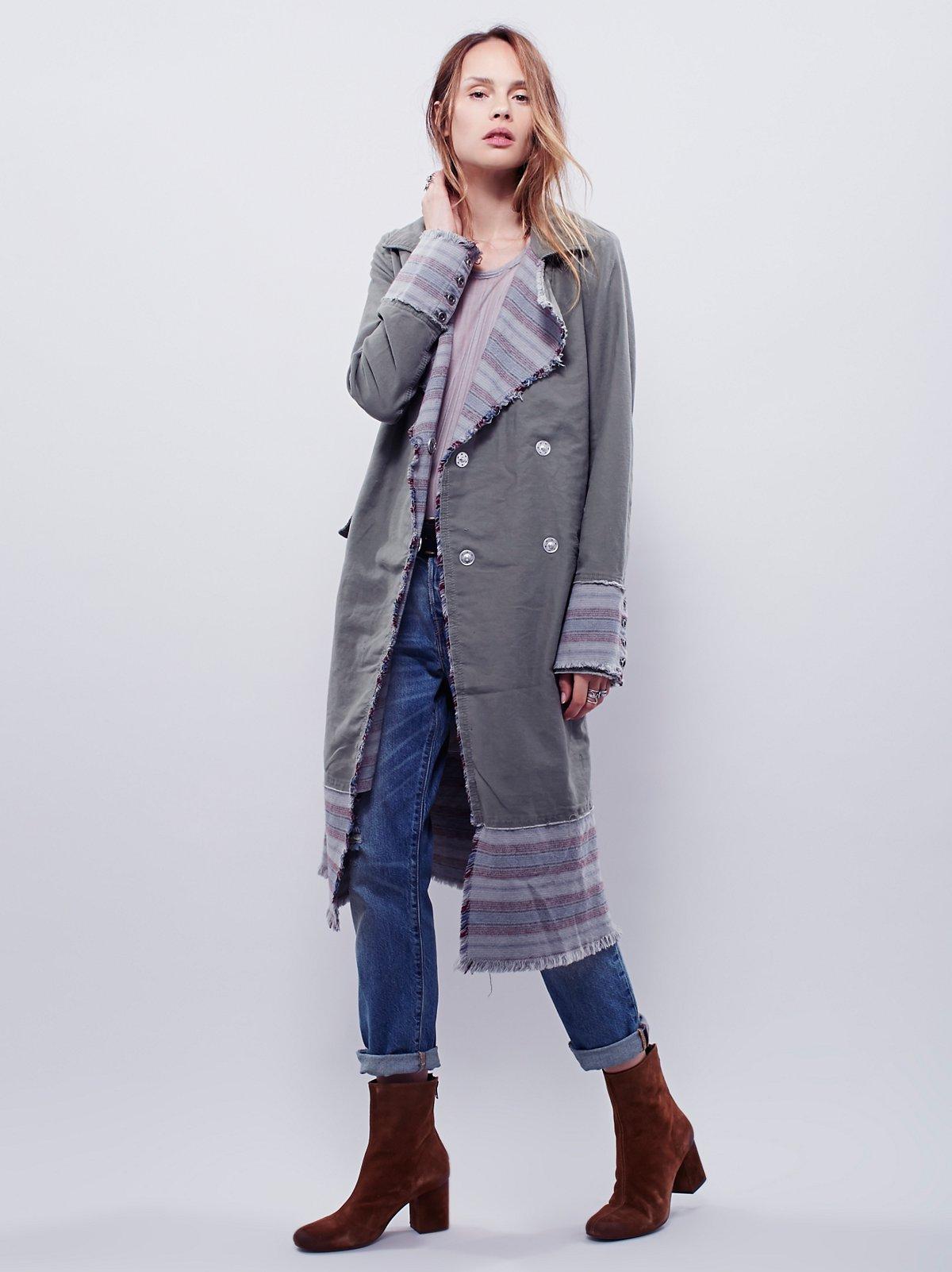 Blanket Stripe Duster