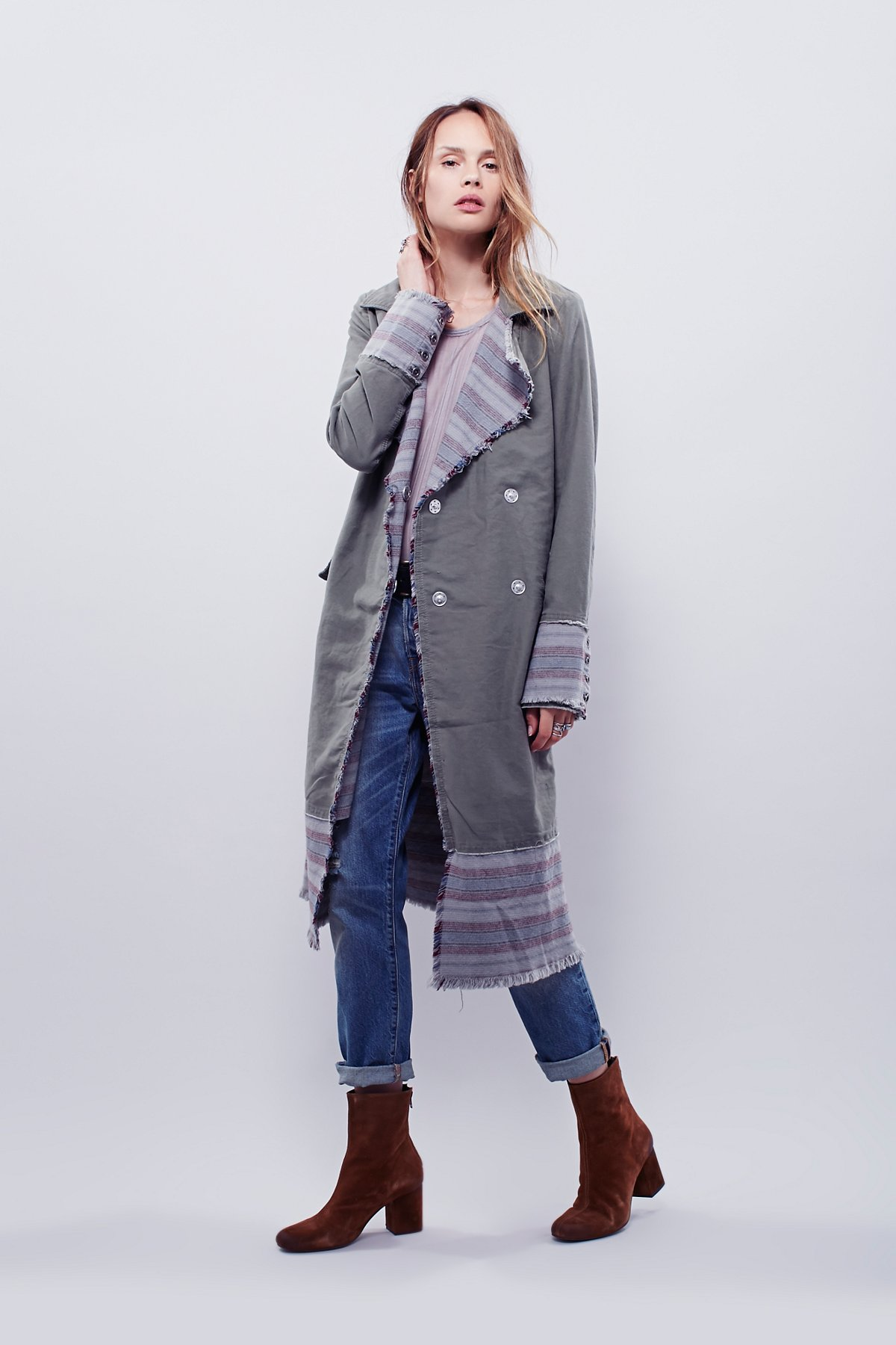 Blanket条纹防尘衣