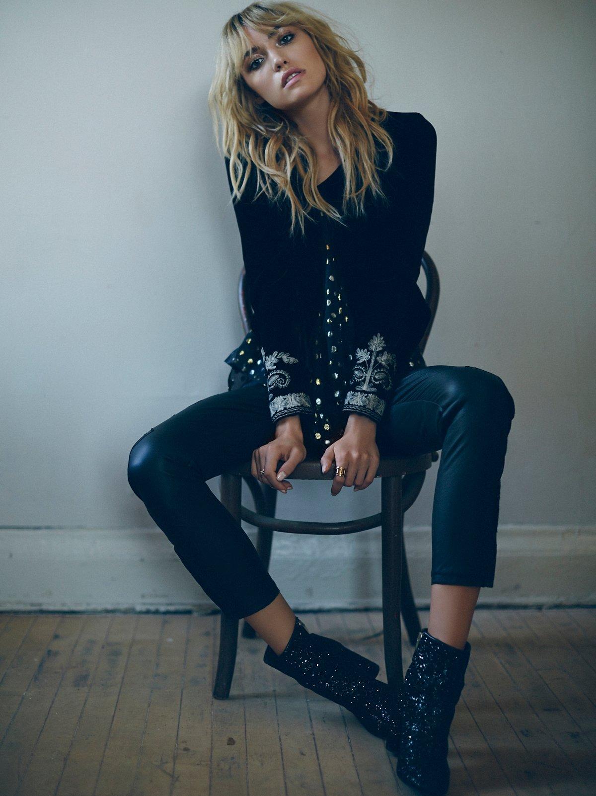 Lana Vegan Leather Legging