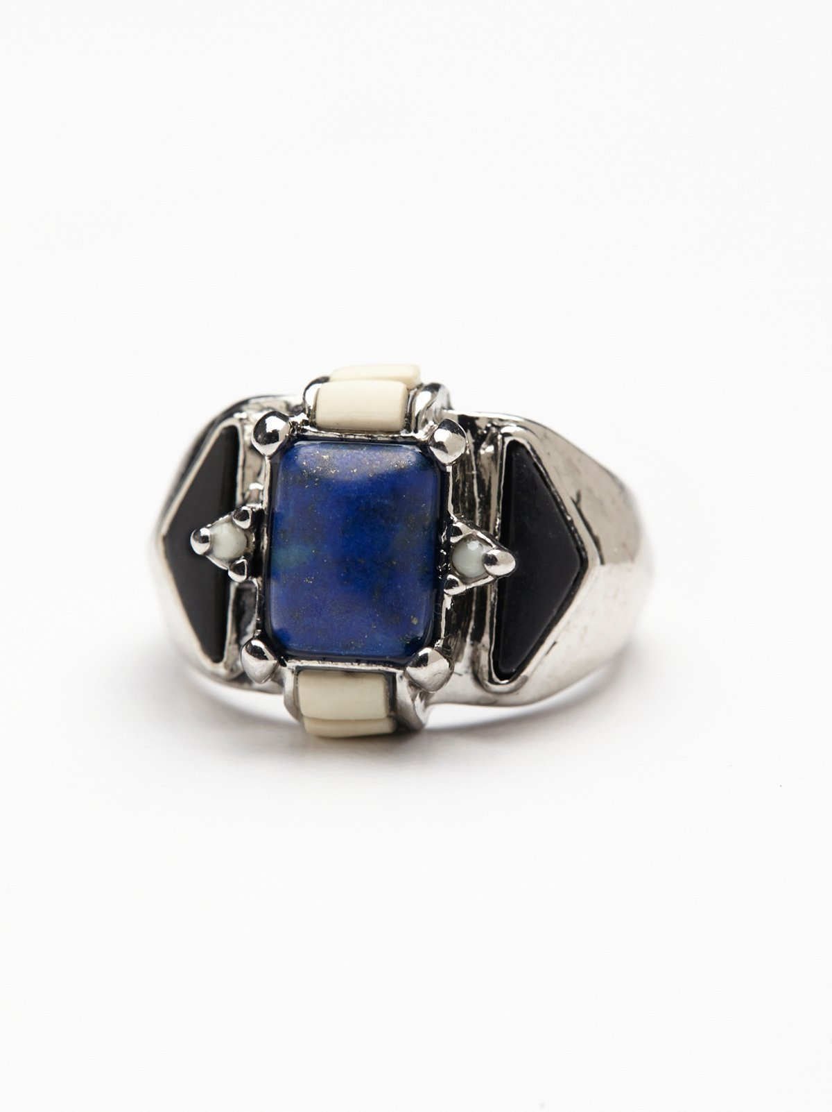 Mixed Stones Ring