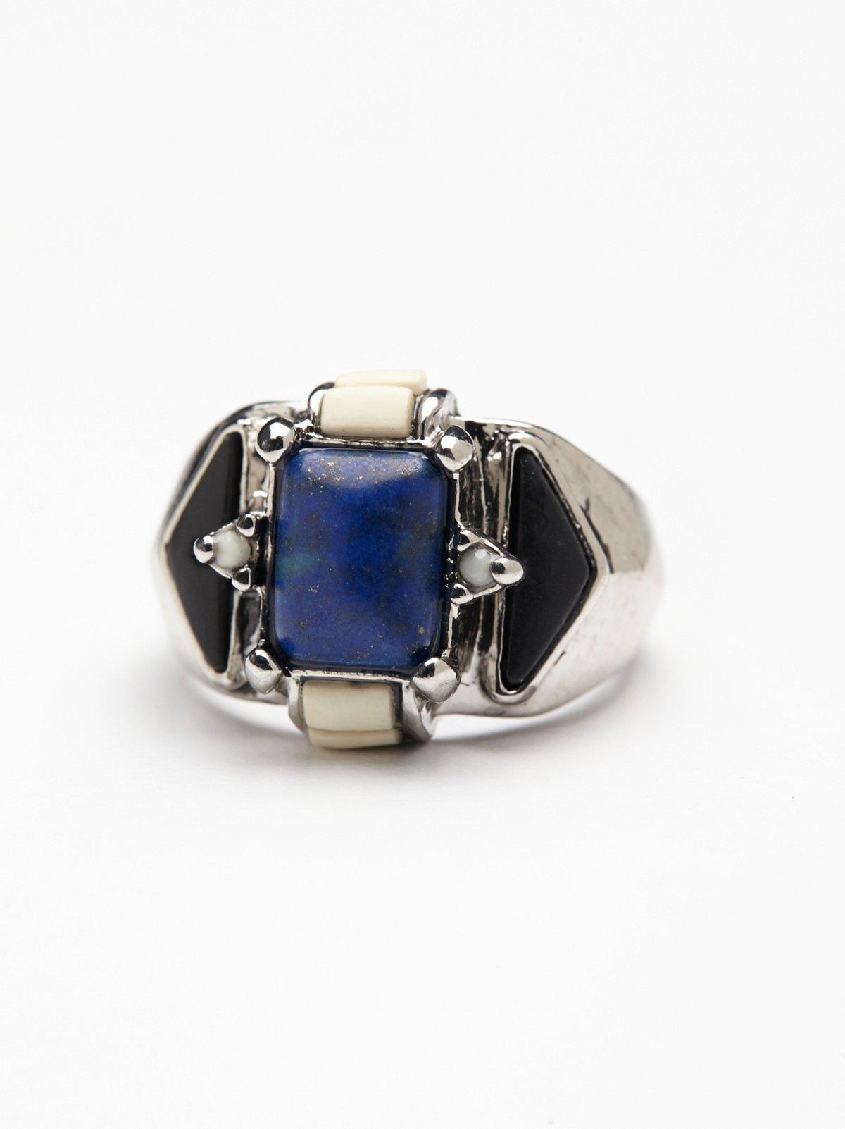 宝石混搭戒指