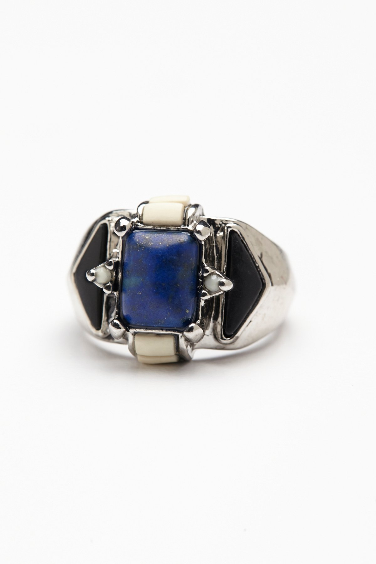 Mixed Stones Ring