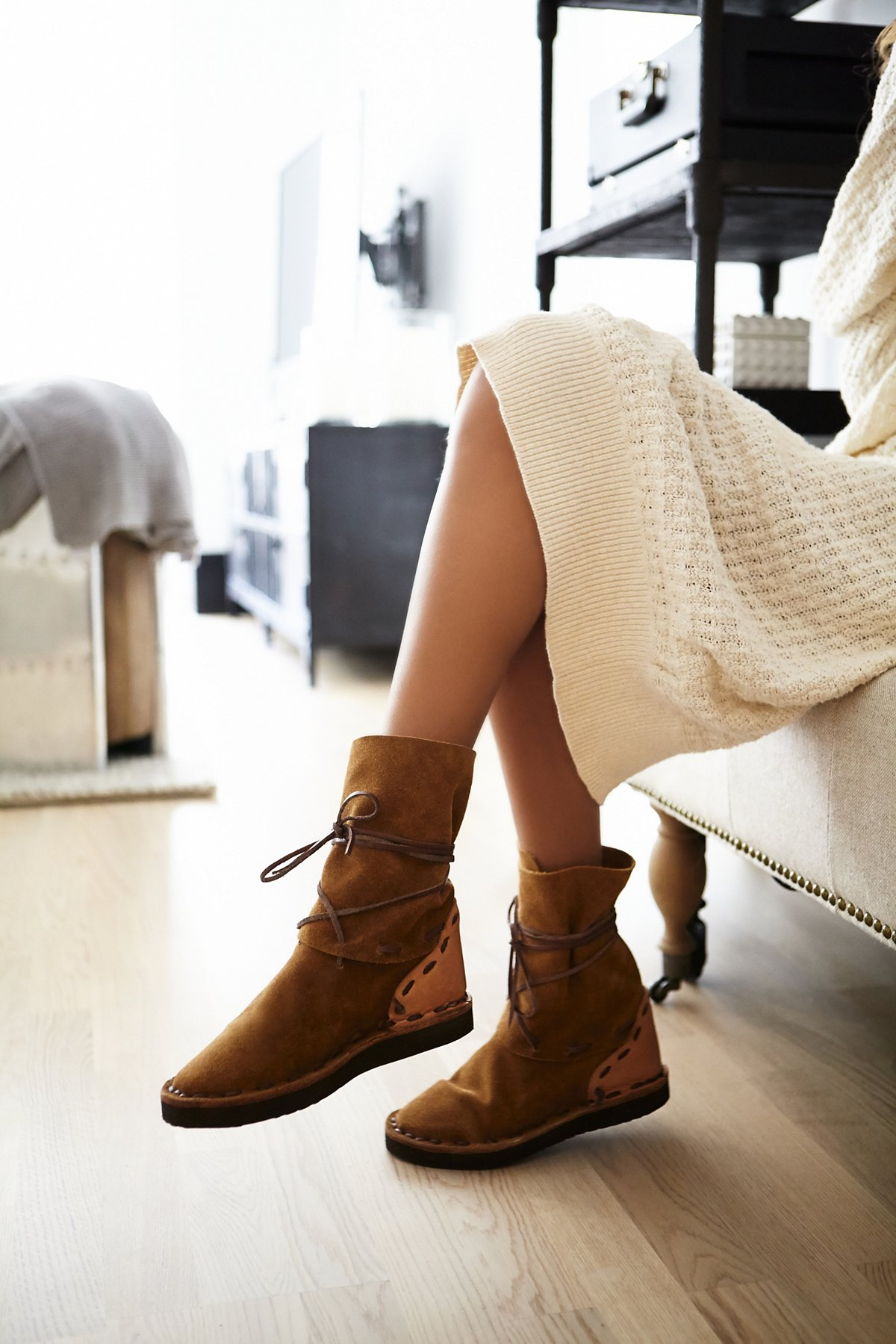 Ontario Wrap Ankle Boot