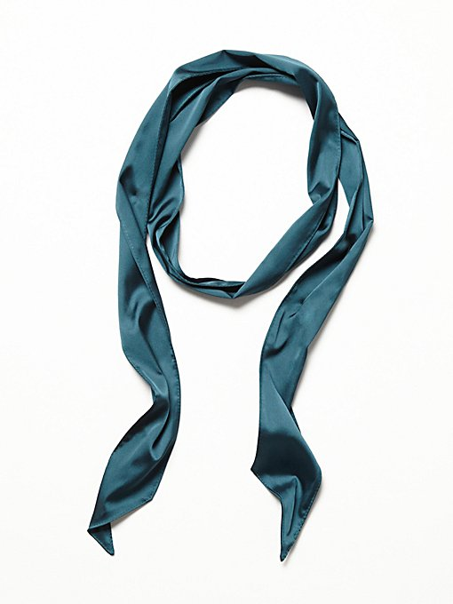 Product Image: High Street Solid Skinny Scarf