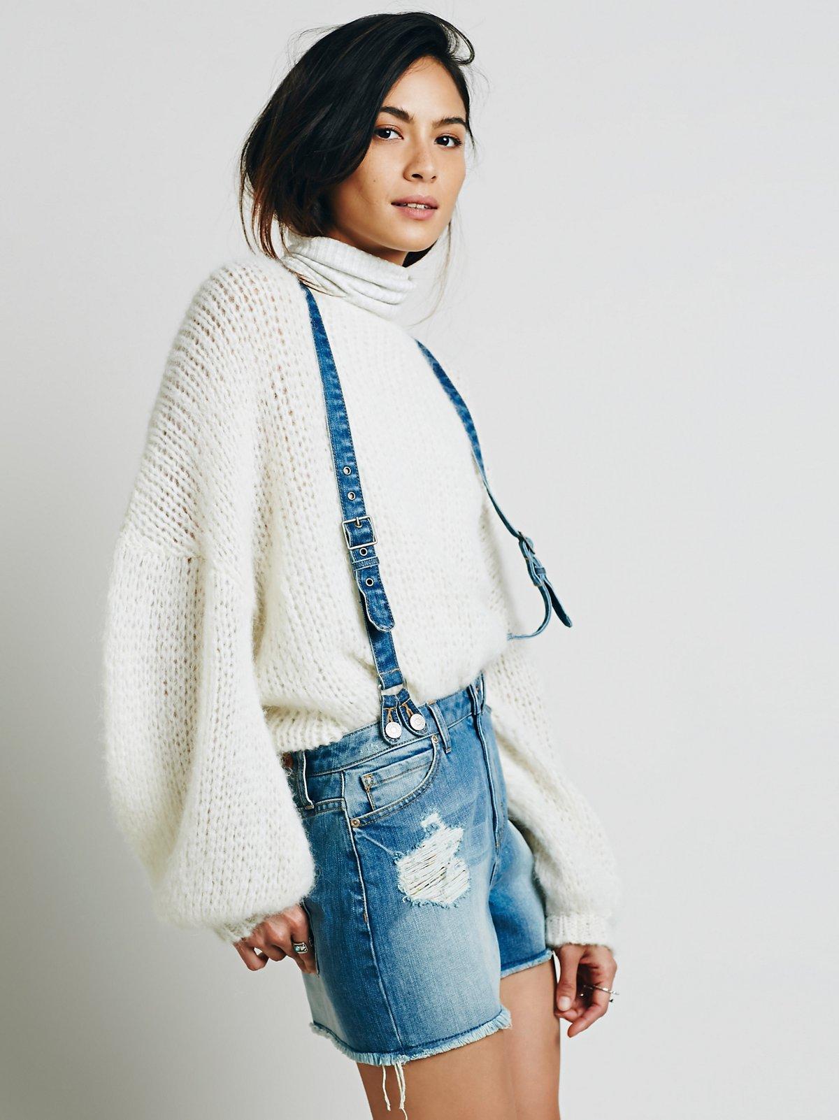 Clarissa Suspender短裤