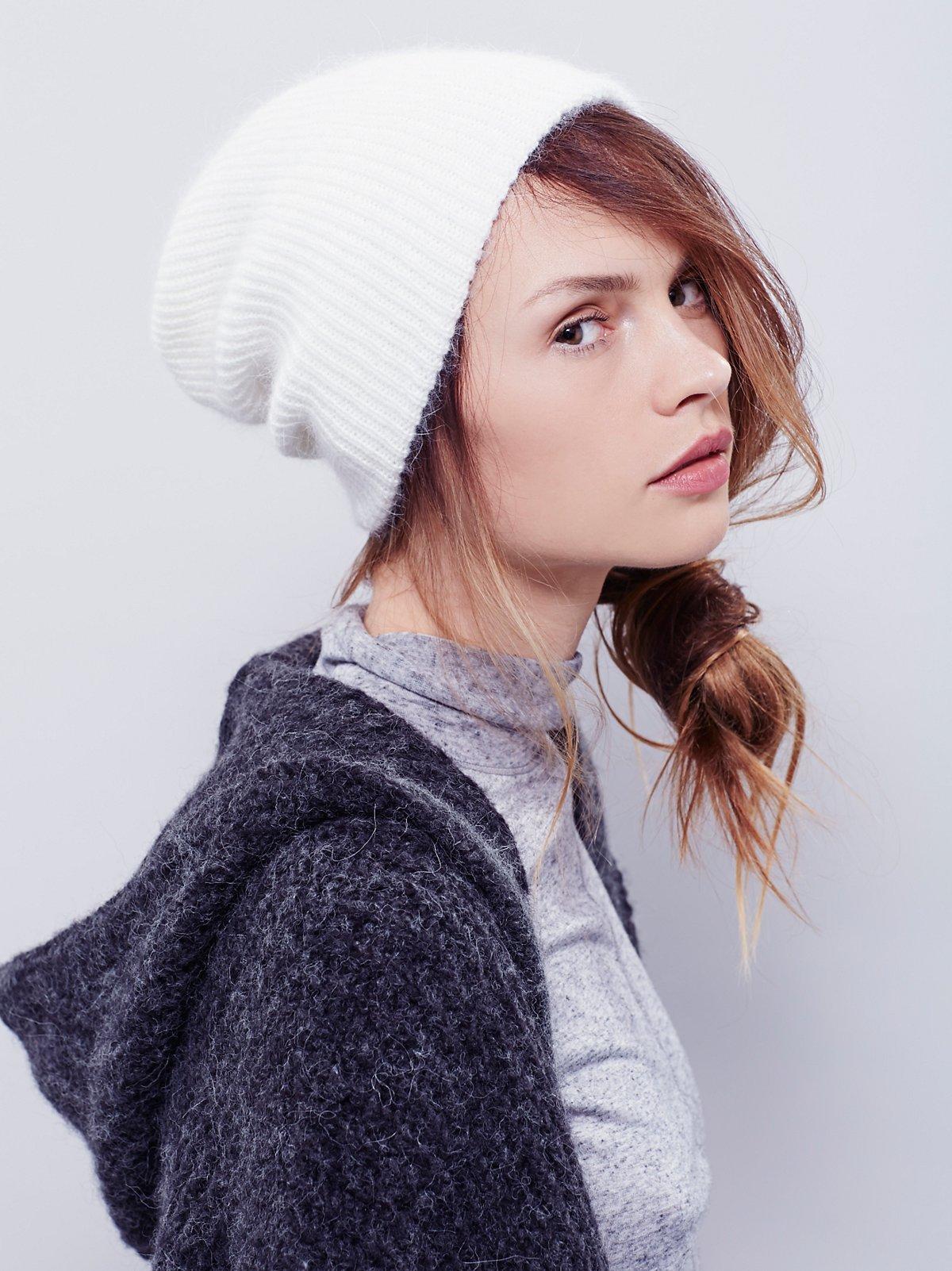 Axel Fuzzy Rub针织帽