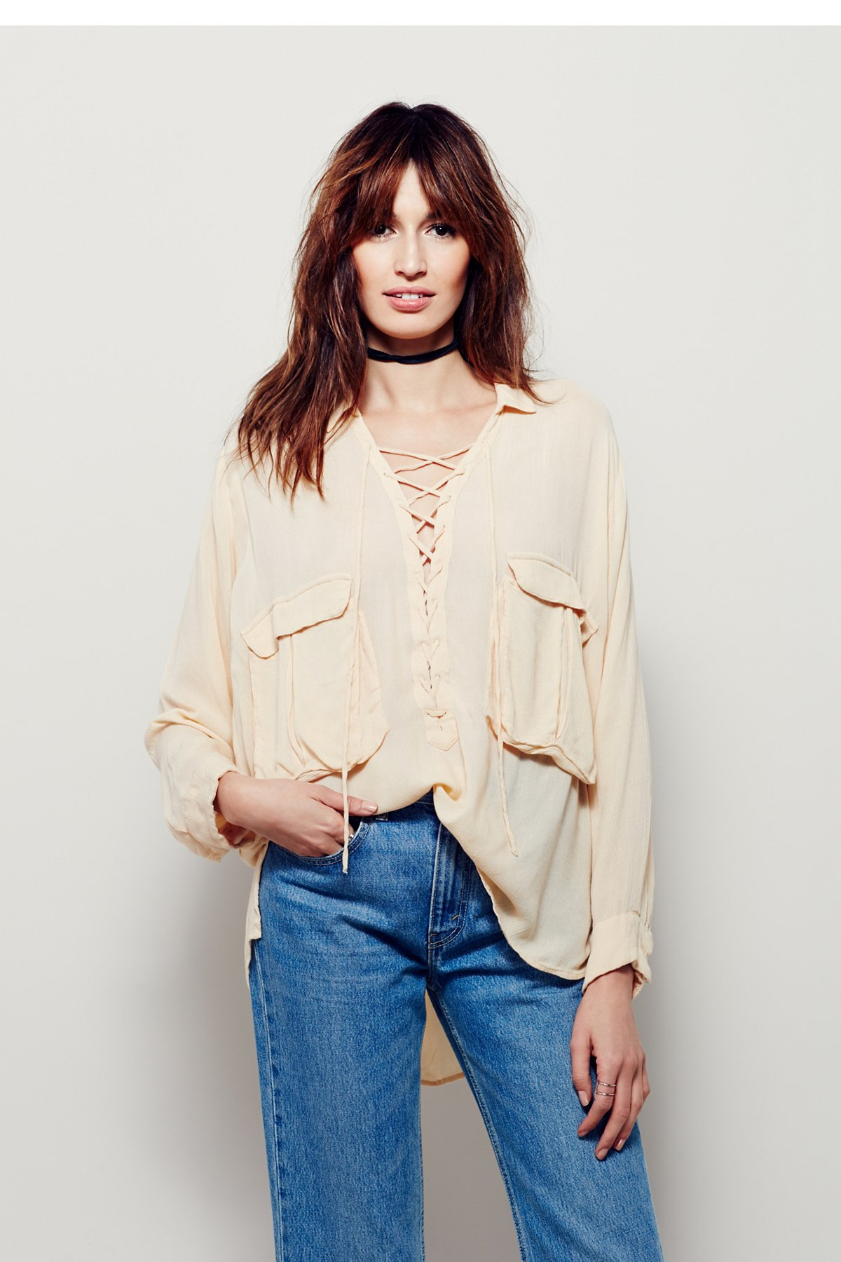 Robin Lace Up Top