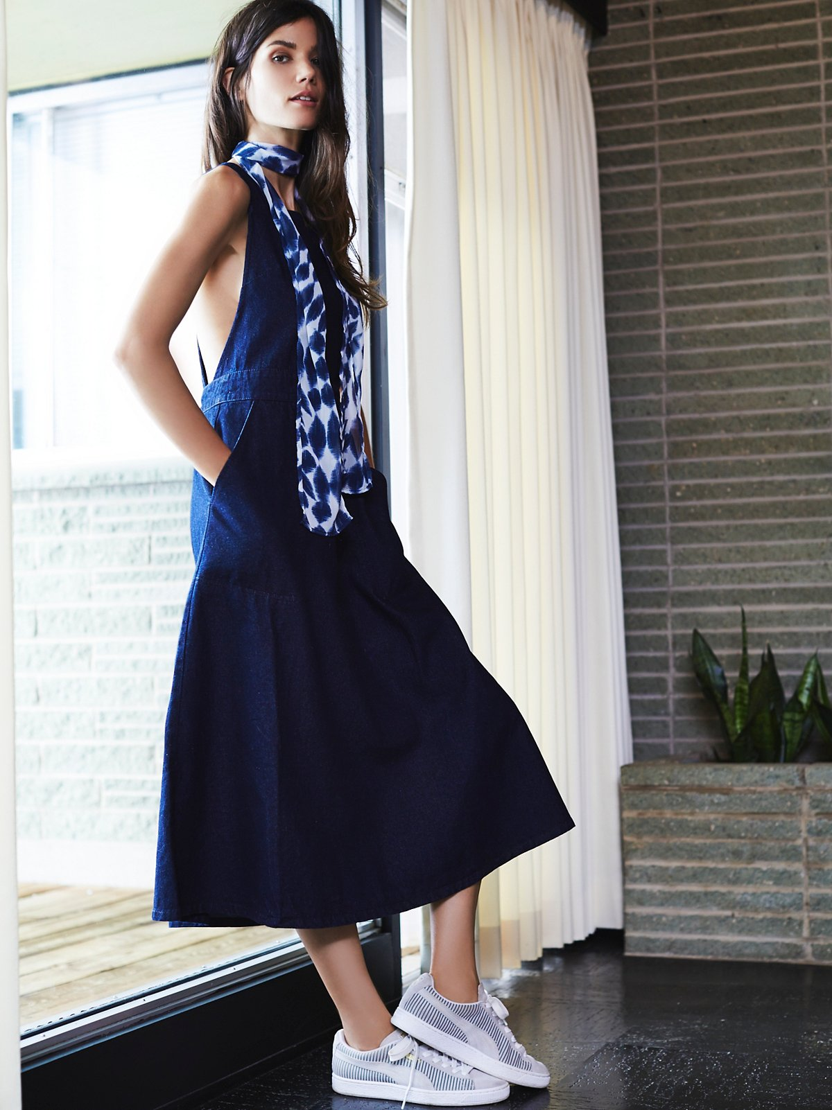 Apron dress