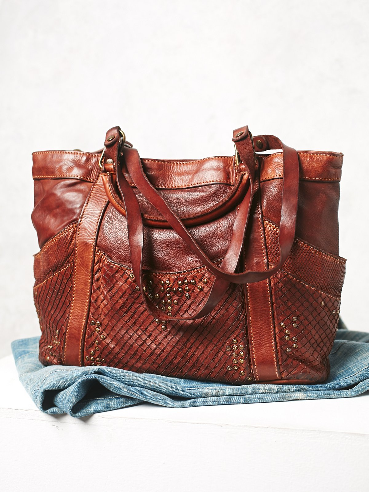 Jackson Leather Tote