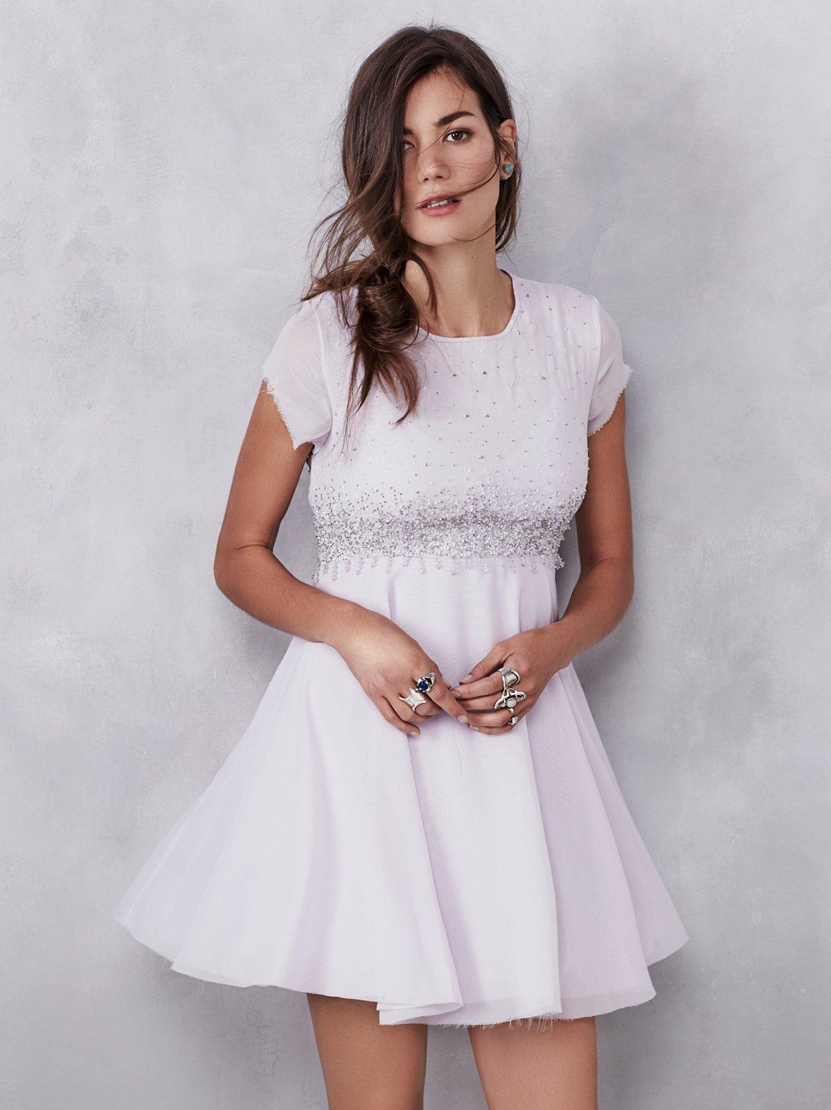 Glitter Rock Babydoll Dress