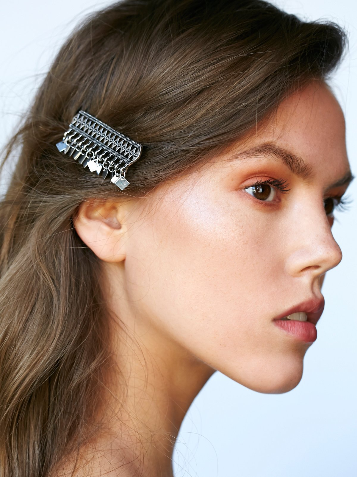 Ornamental Fringe Barrette