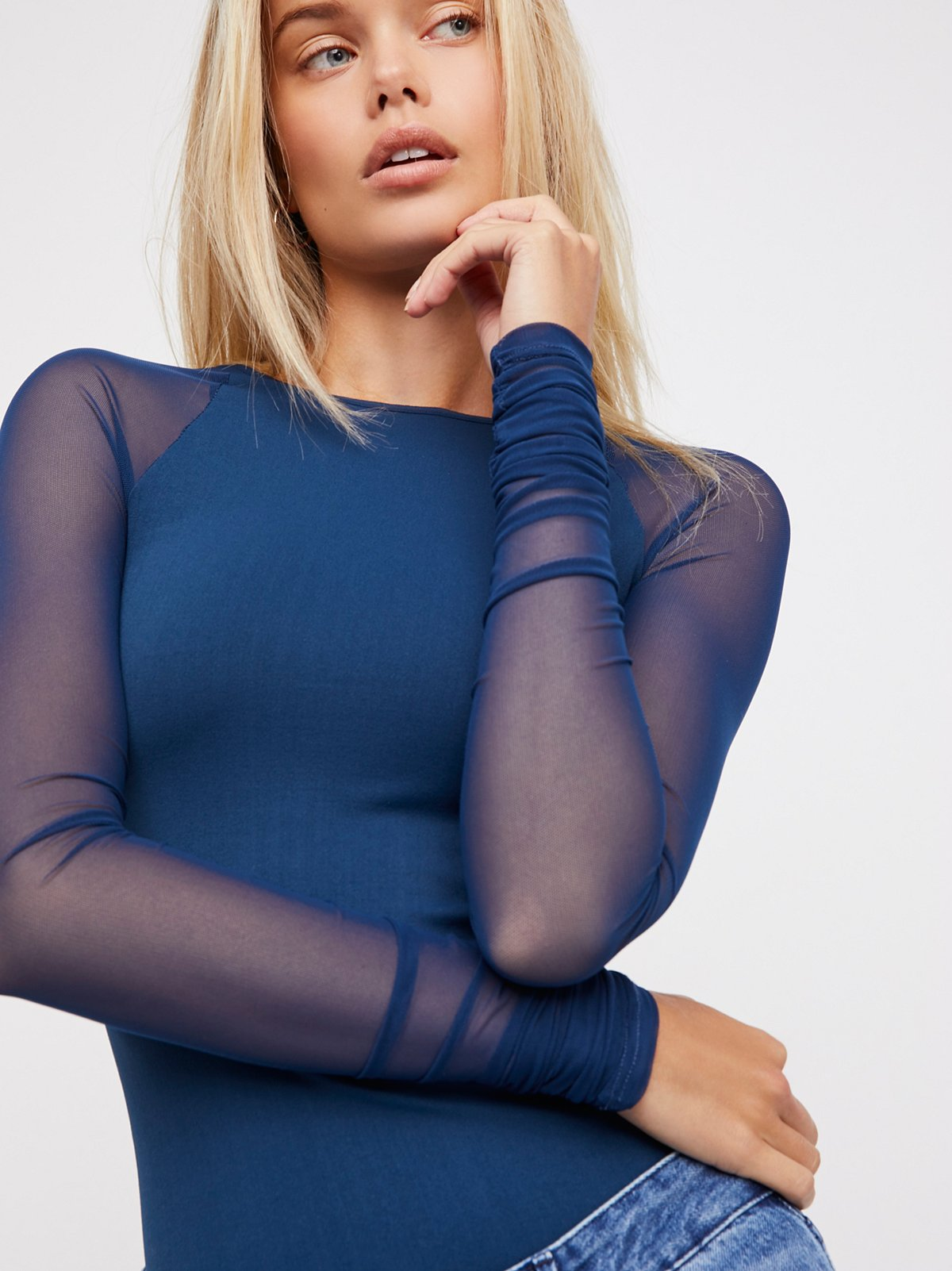 Scrunch Sleeve Seamless