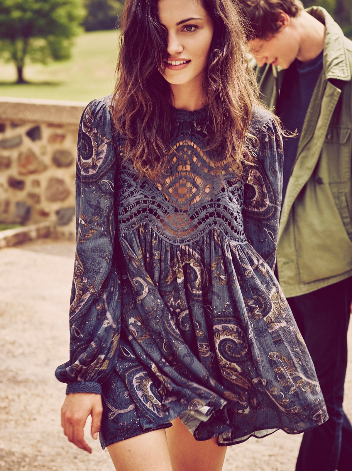 Sweet Thing Printed Tunic