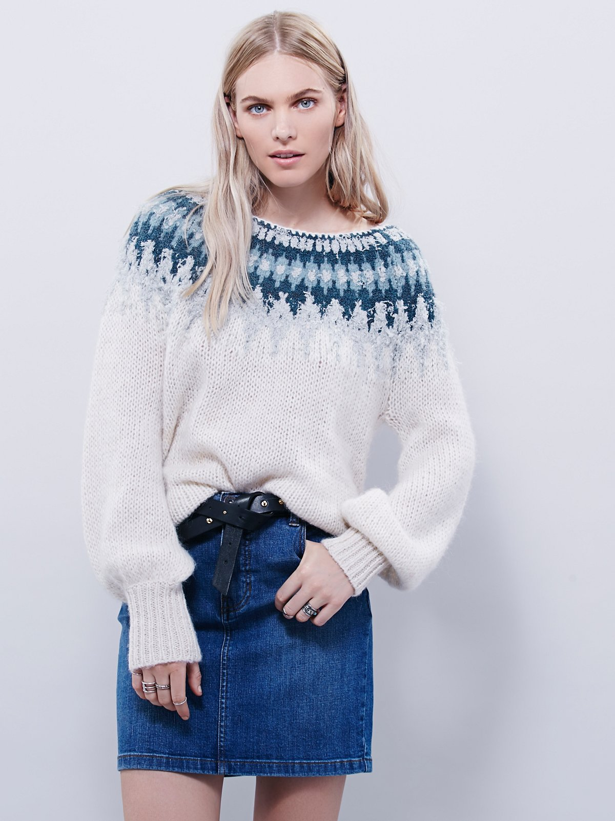 Baltic Fairisle Pullover