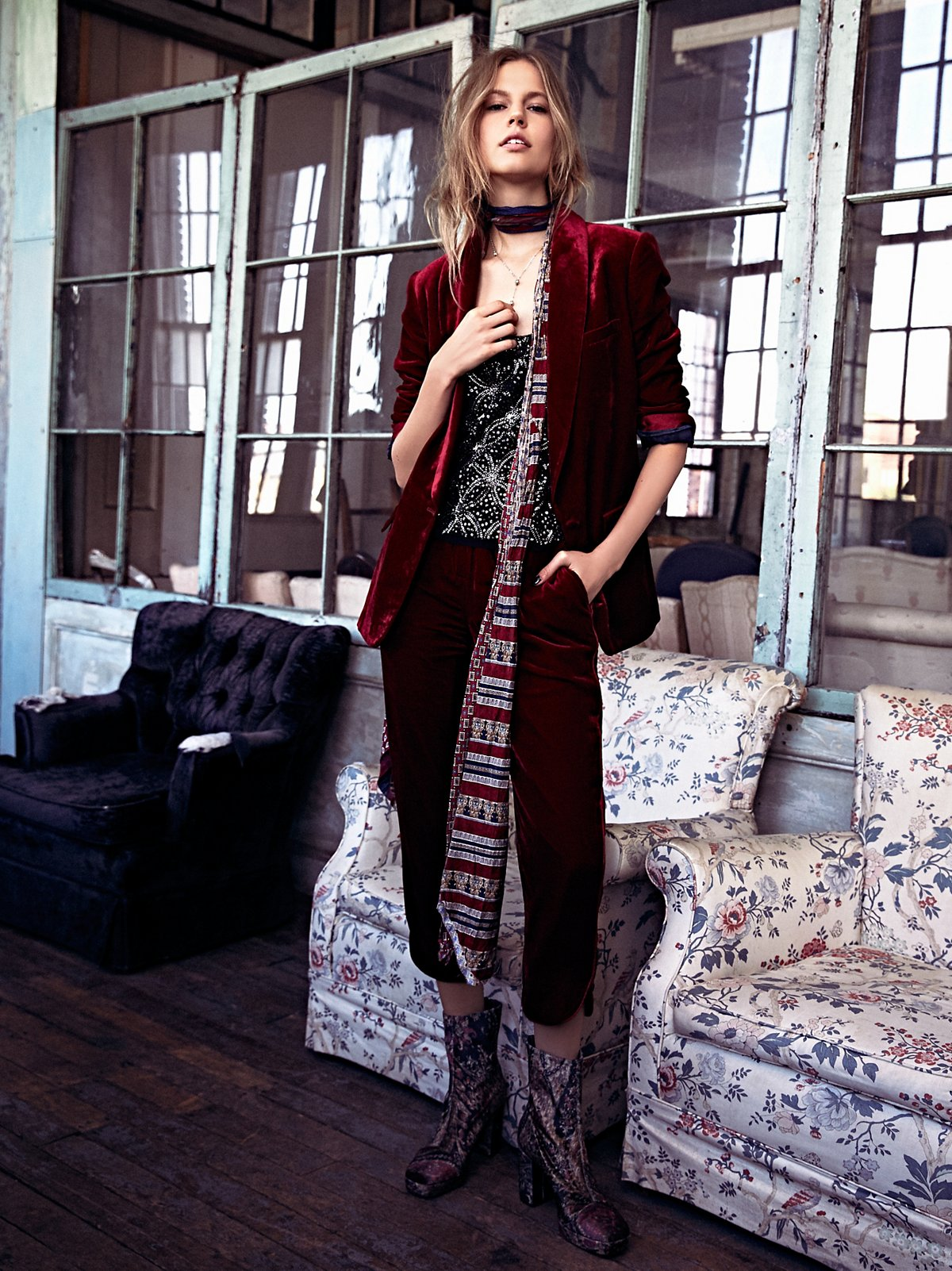 Jill's Velvet Limited Edition Pantsuit
