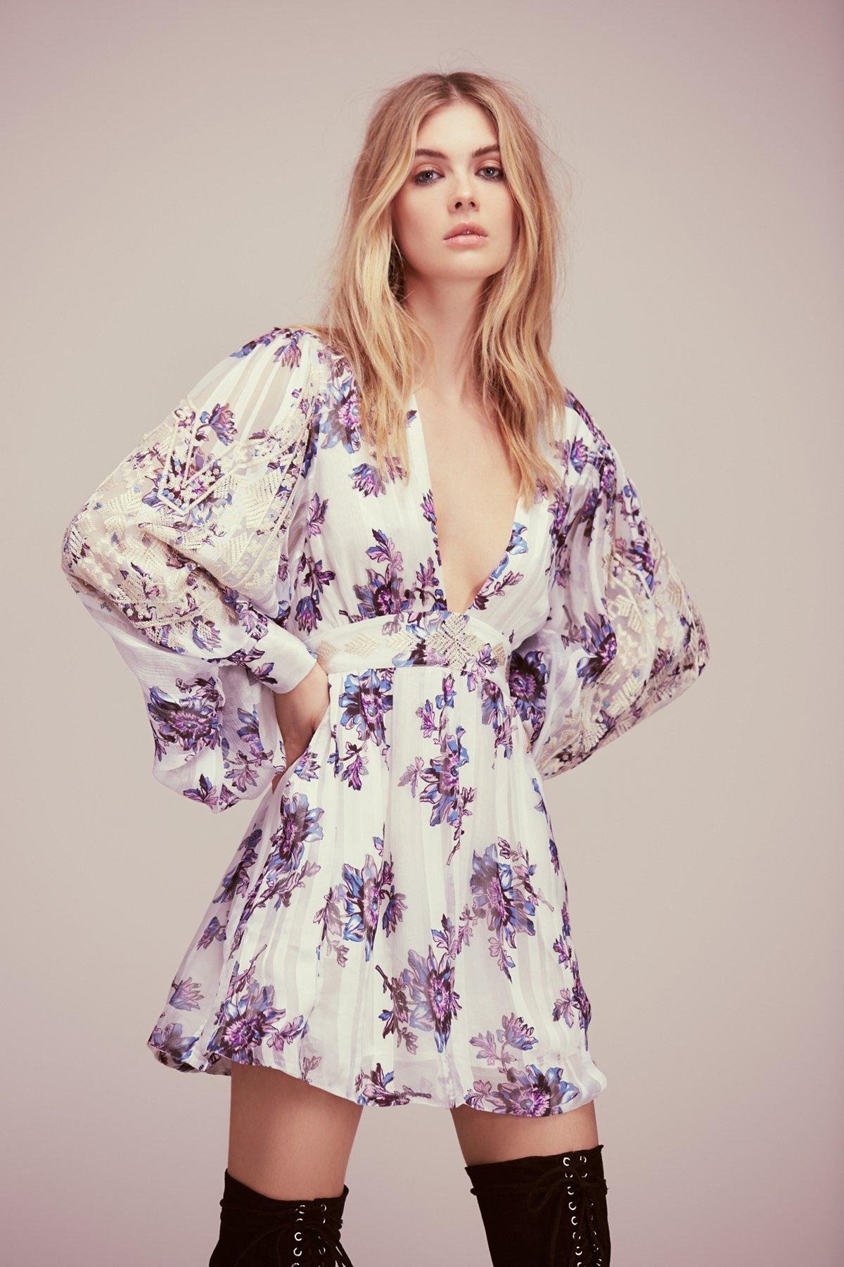 New Romantics Midnight Blooms Dress