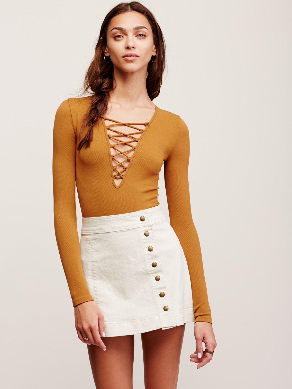 Keep On Rocking Asymmetrical Skirt