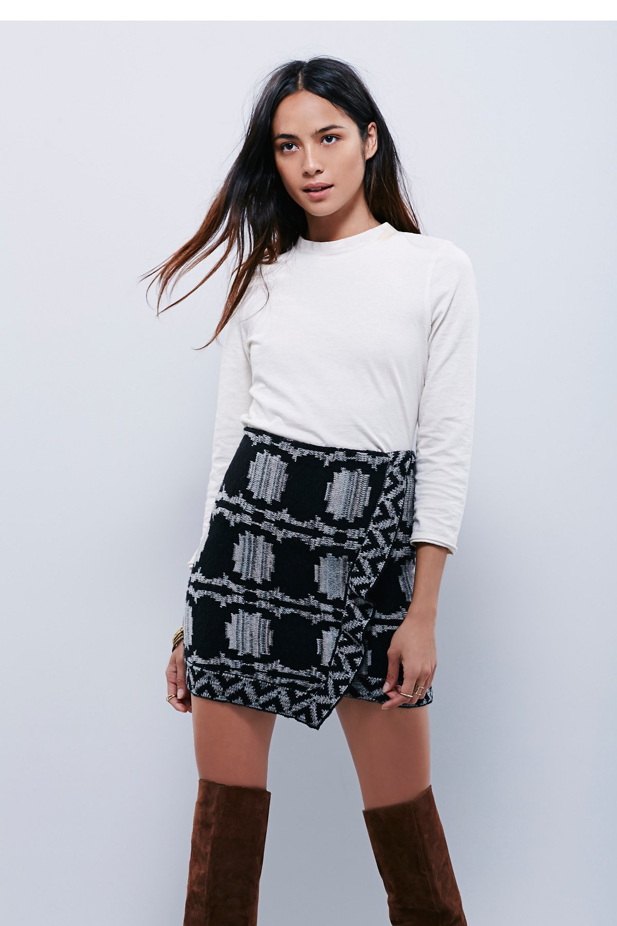 Wrapped in You Blanket Skirt