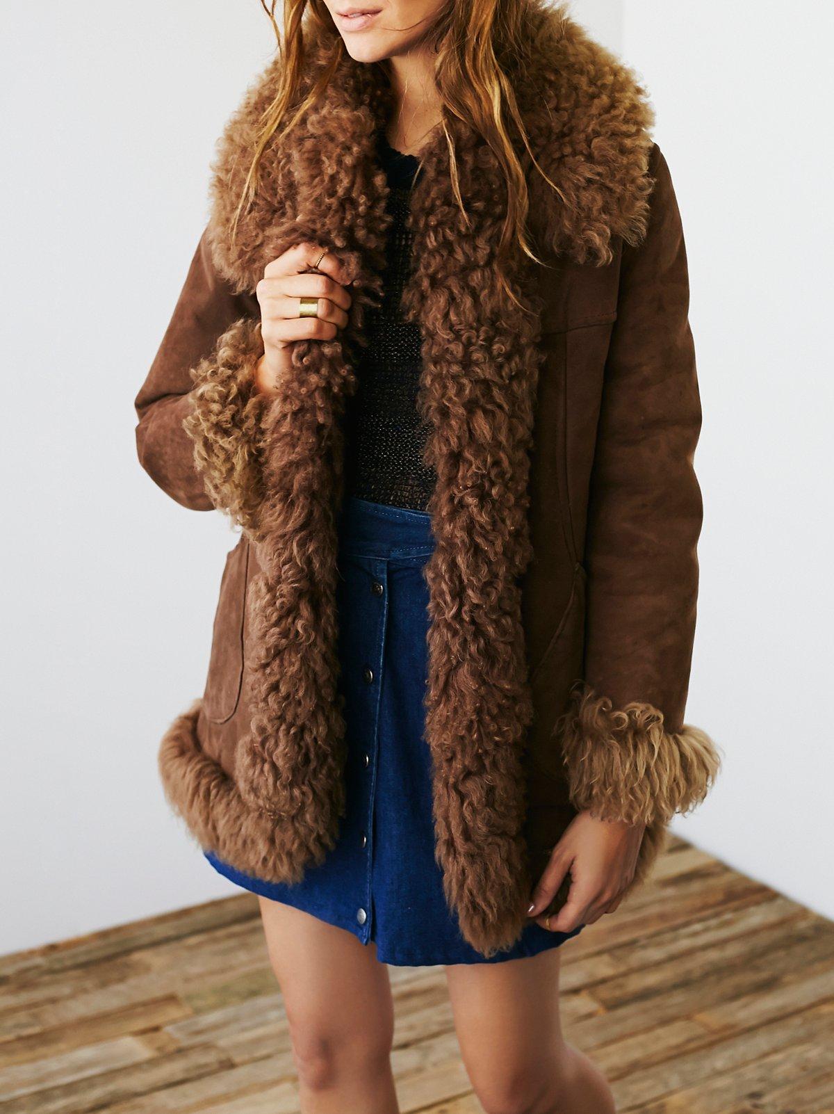 Vintage 1970s Sheepskin Jacket