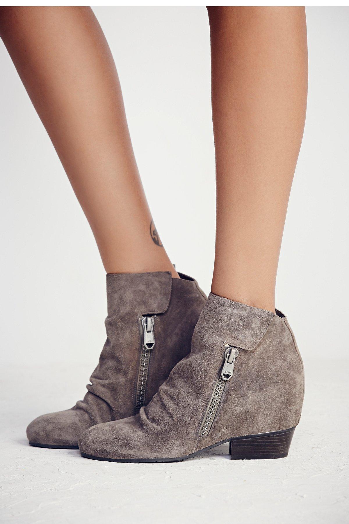 Denver坡跟靴