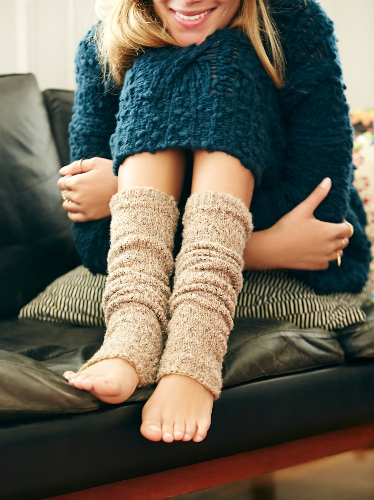 Shakedown暖腿袜