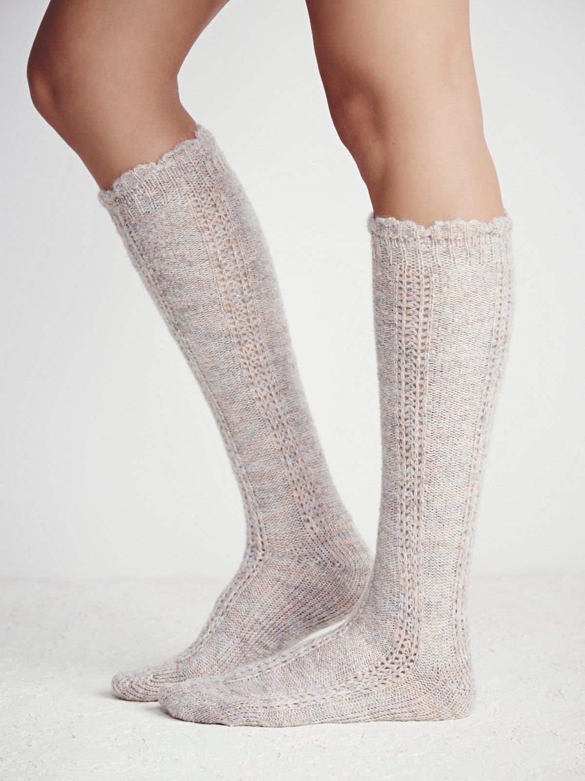 Iris Knee Sock
